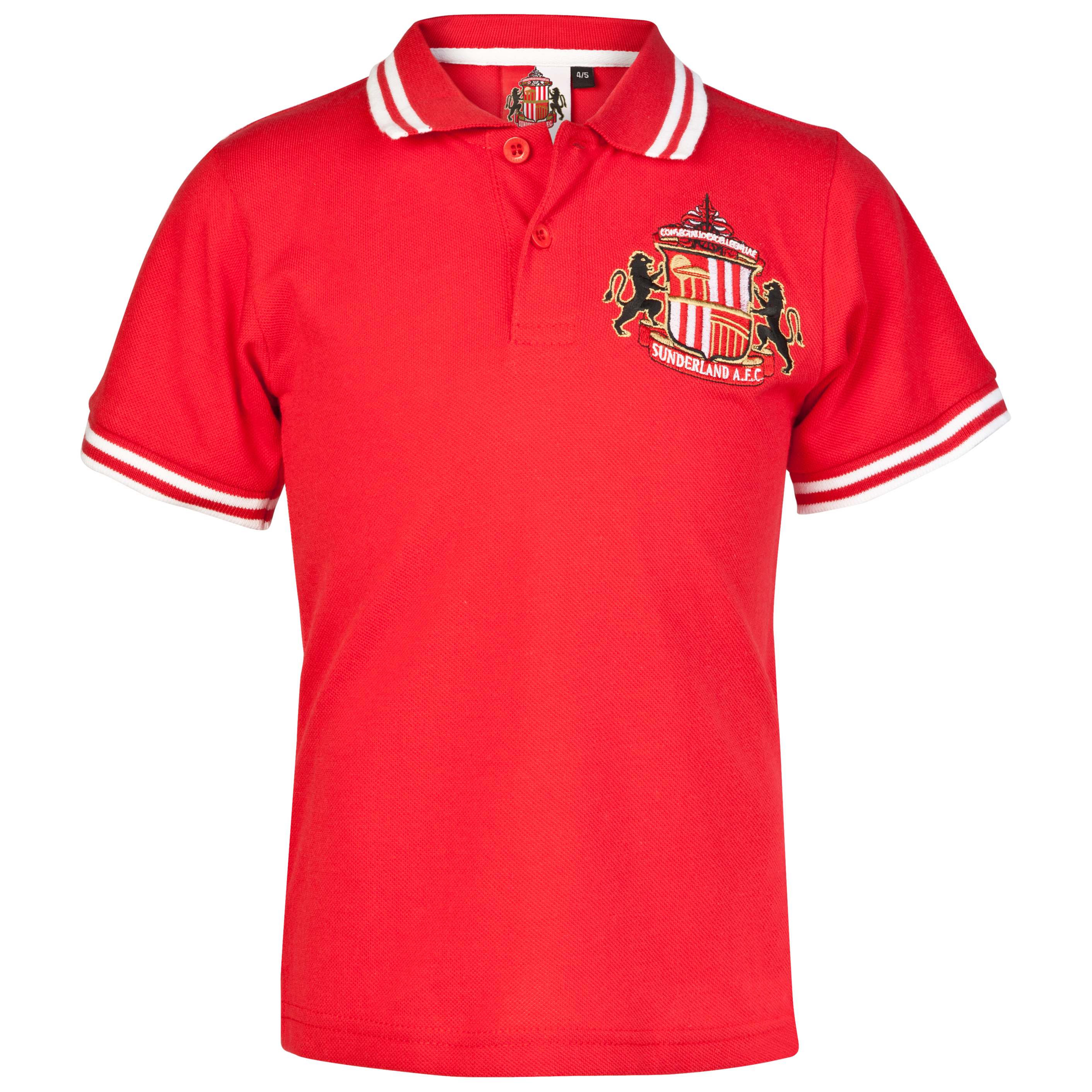Sunderland Essential Epic Crest Polo Top - Red - Infant Boys