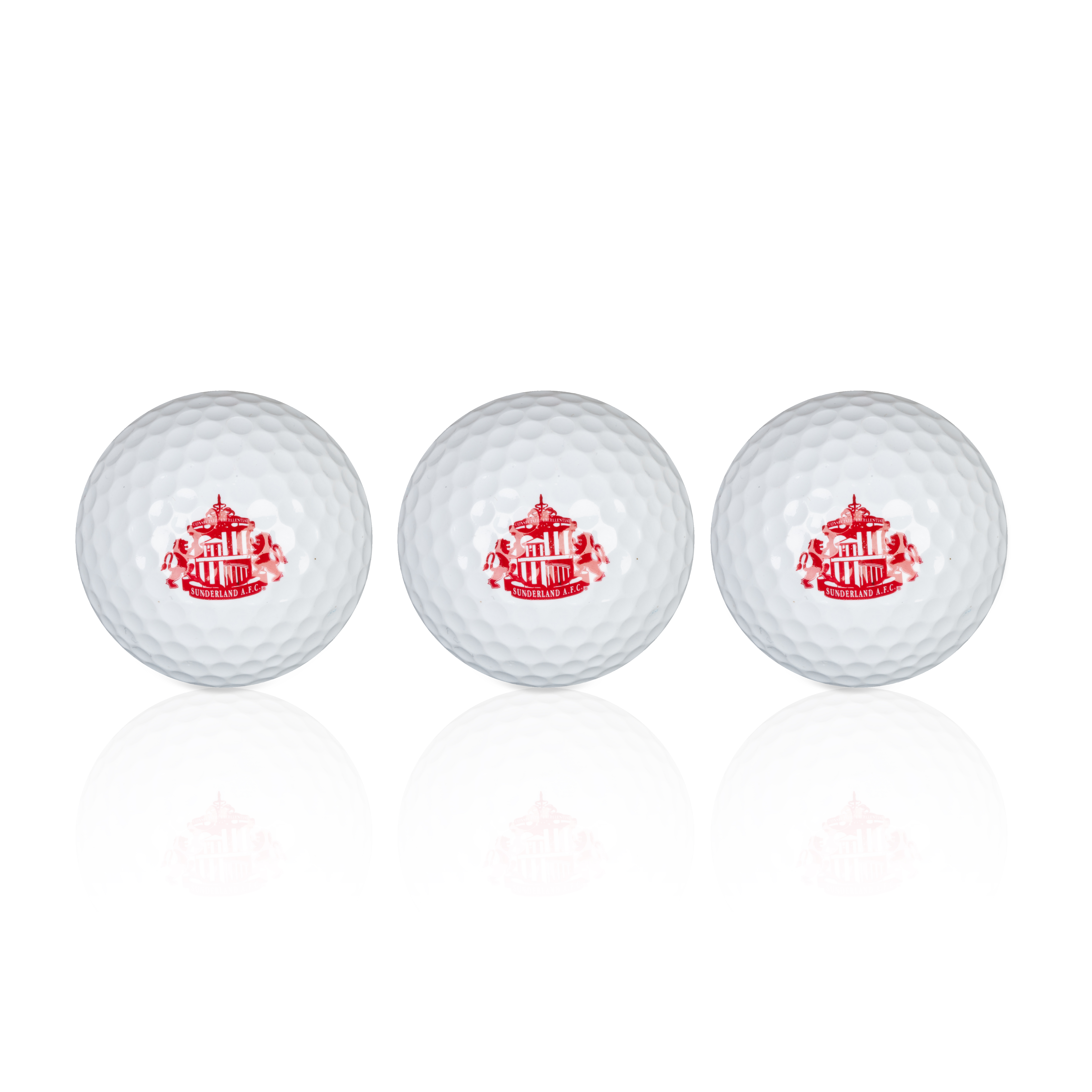 Sunderland Executive Golf Balls 3 Pack