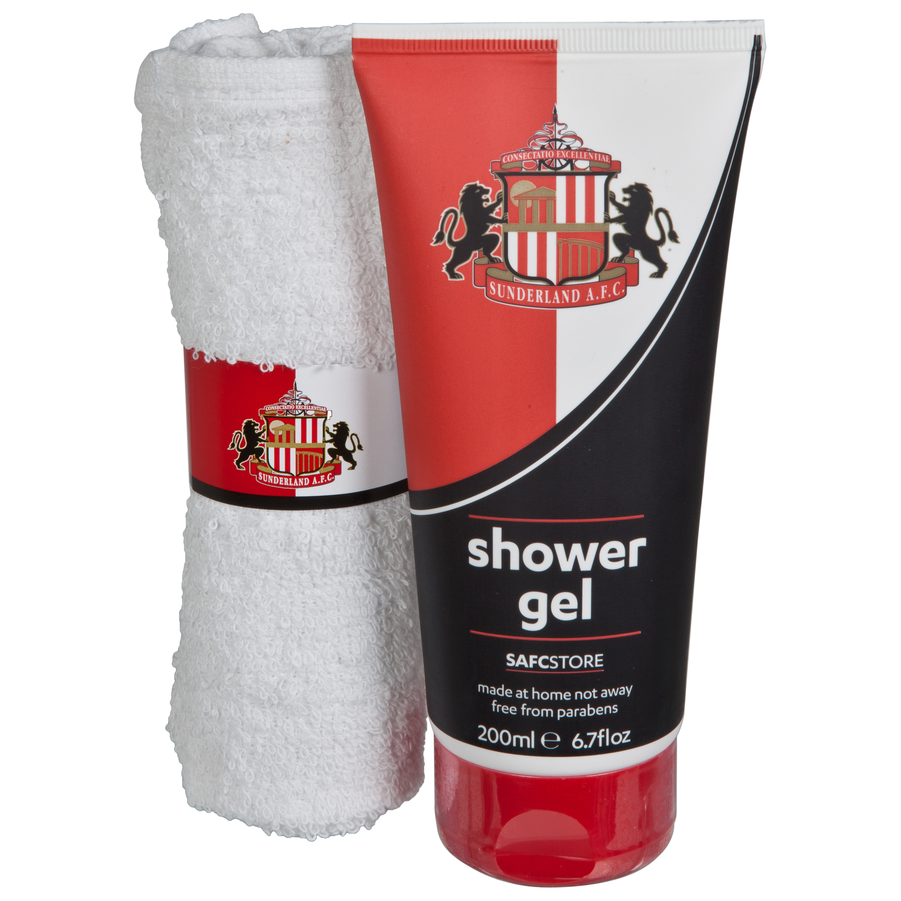 Sunderland Shower Gel and Face Cloth Gift Set