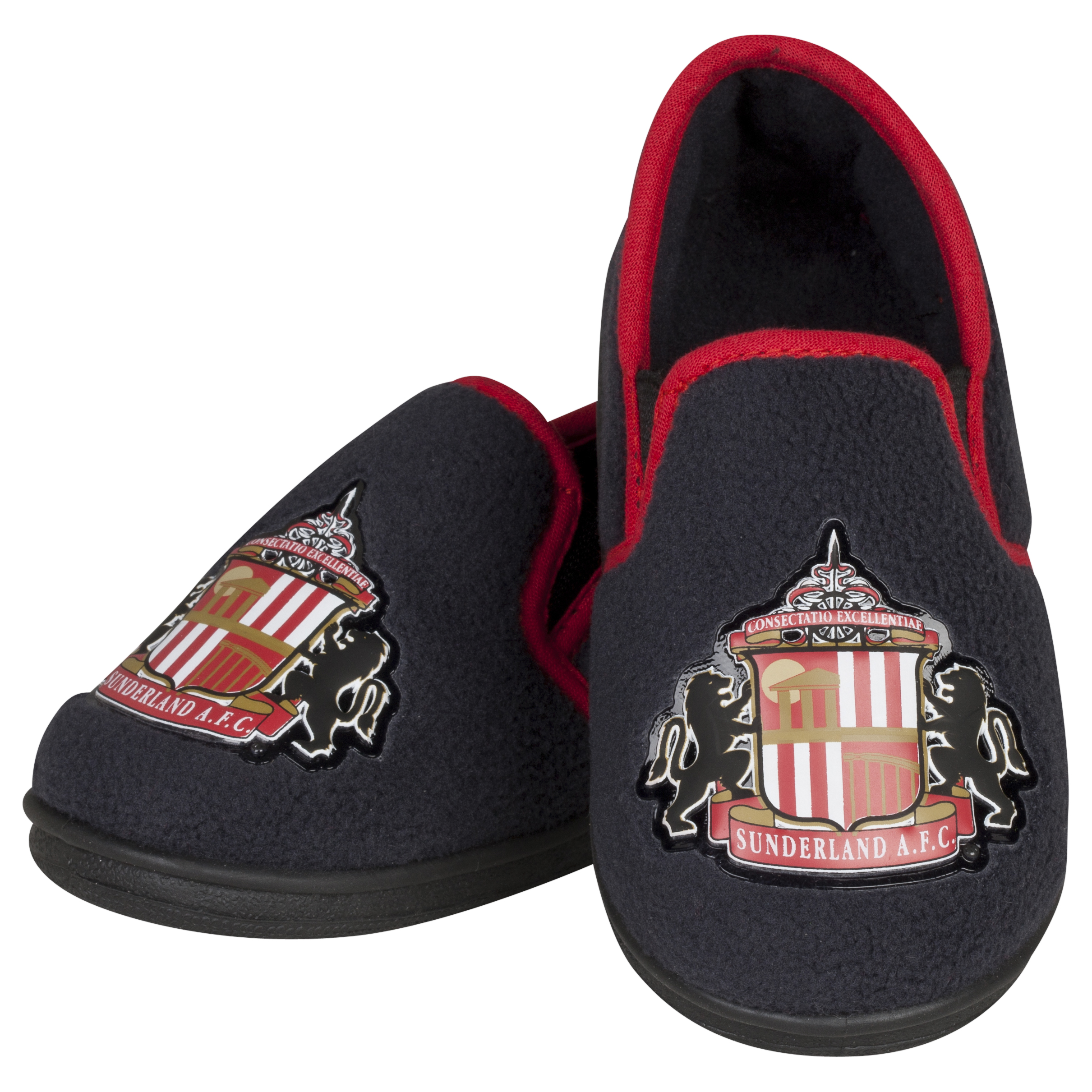 Sunderland Freddie Full Heel Slipper - Charcoal - Boys