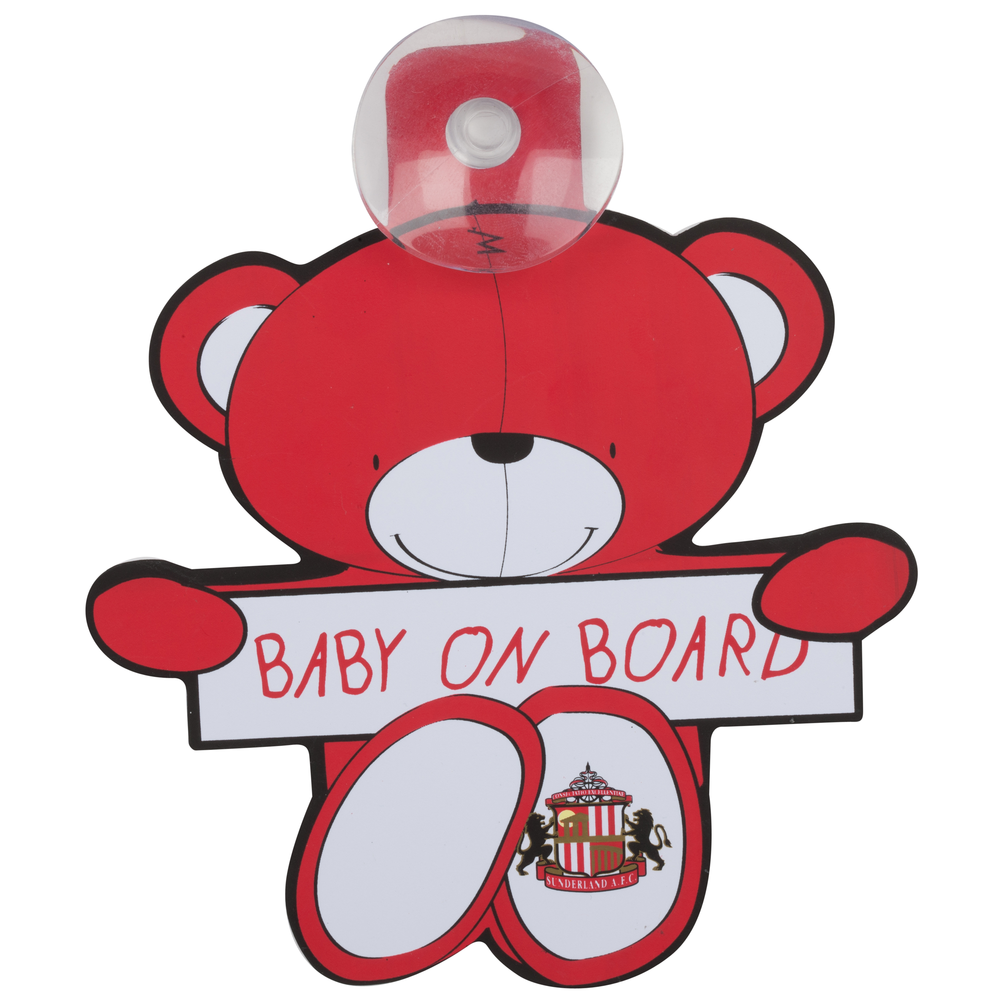 Sunderland Bear Baby on Board Hanger