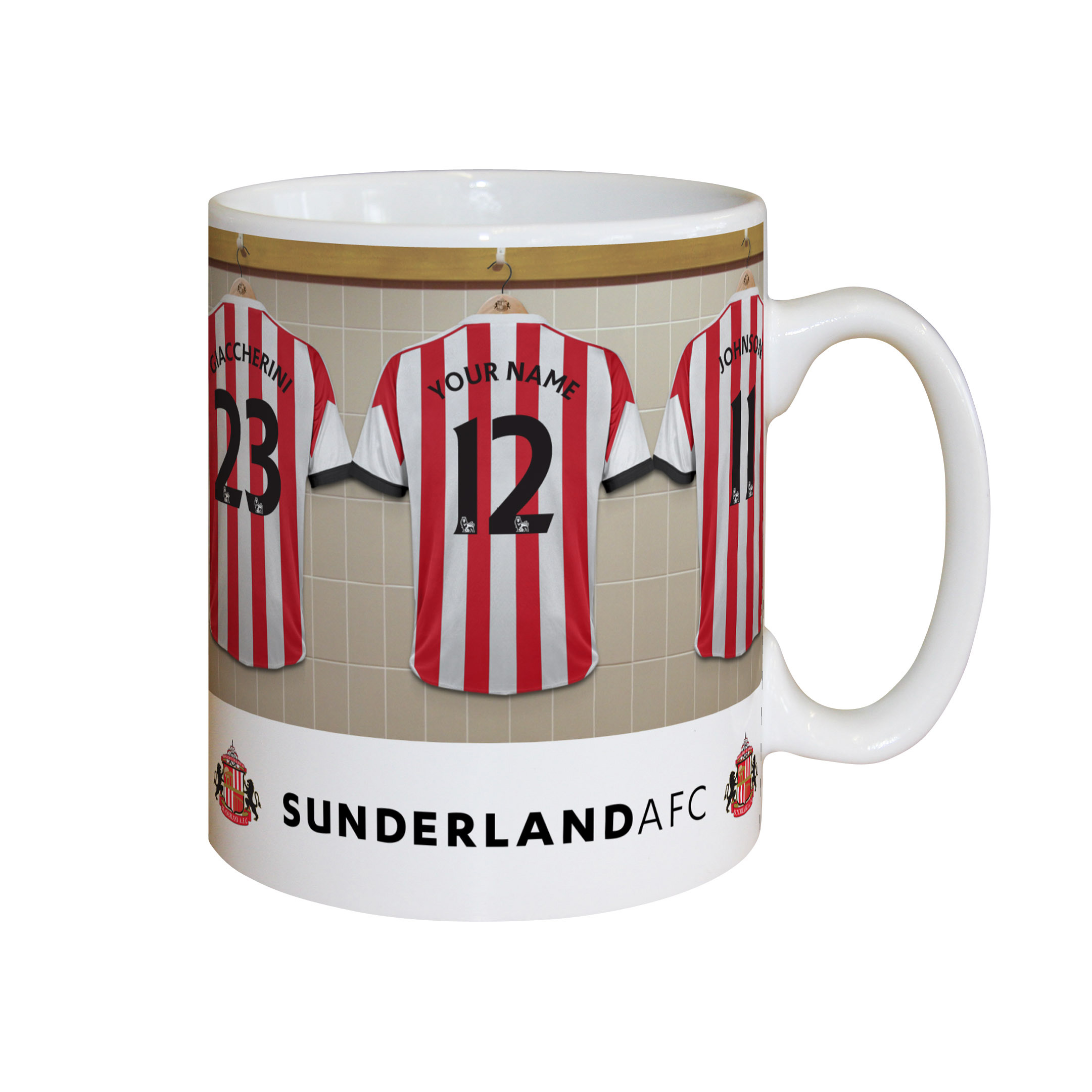 Sunderland Personalised Dressing Room Mug