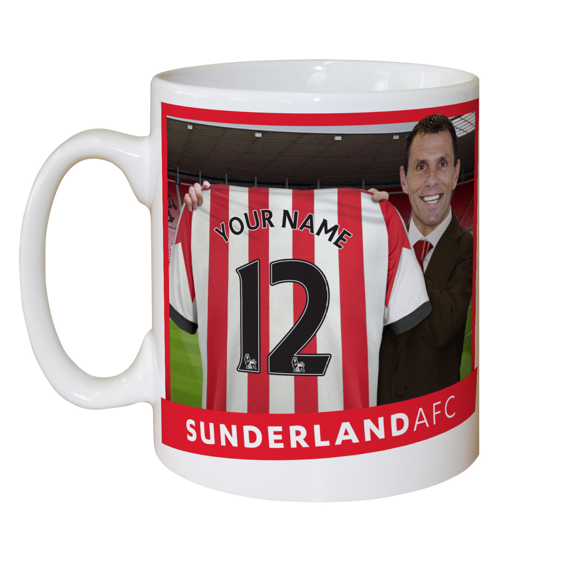 Sunderland Personalised Manager Mug
