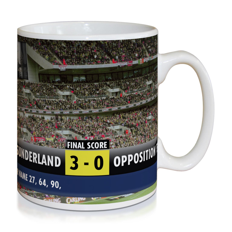 Sunderland Personalised Scoreboard Mug