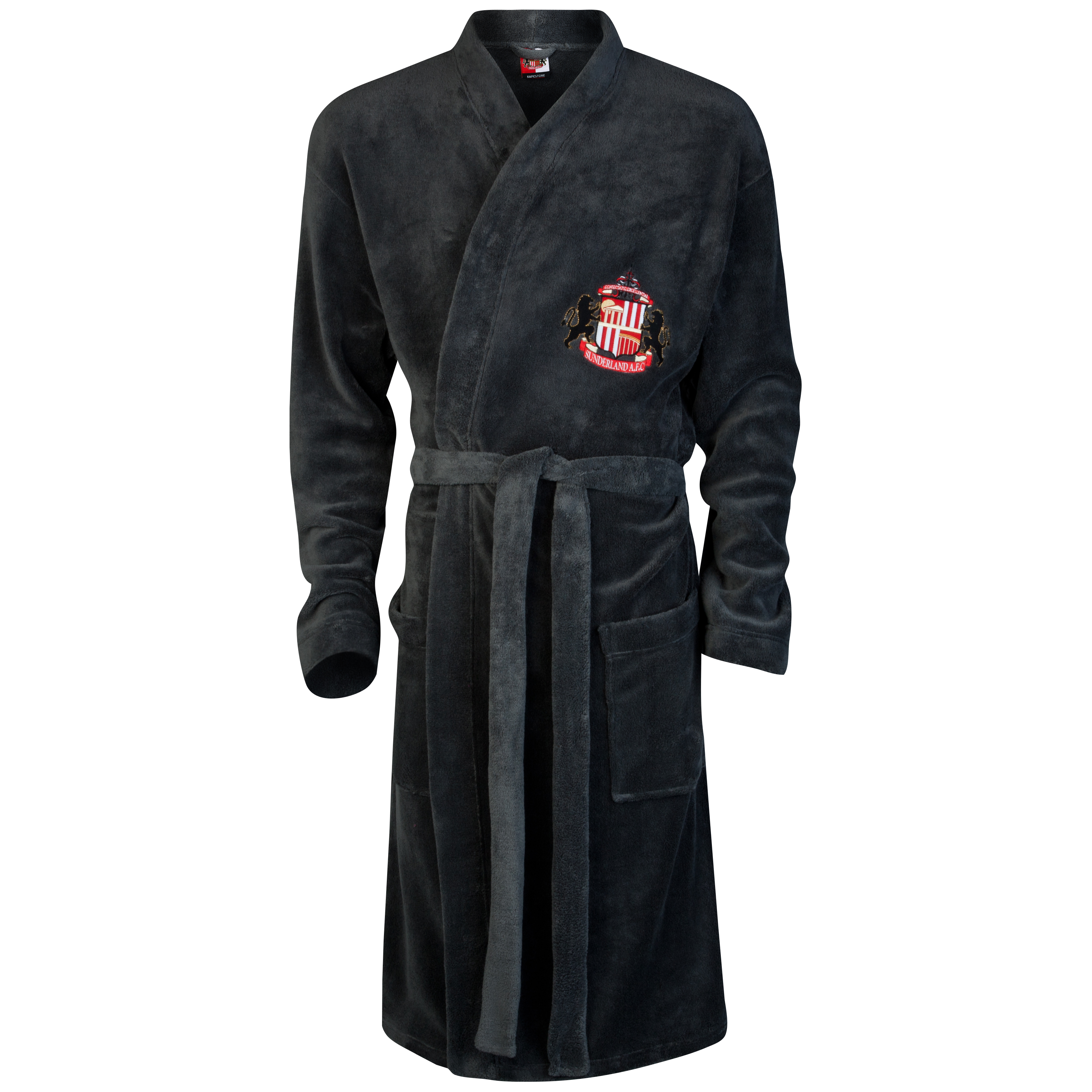 Sunderland Supersoft Robe-Charcoal