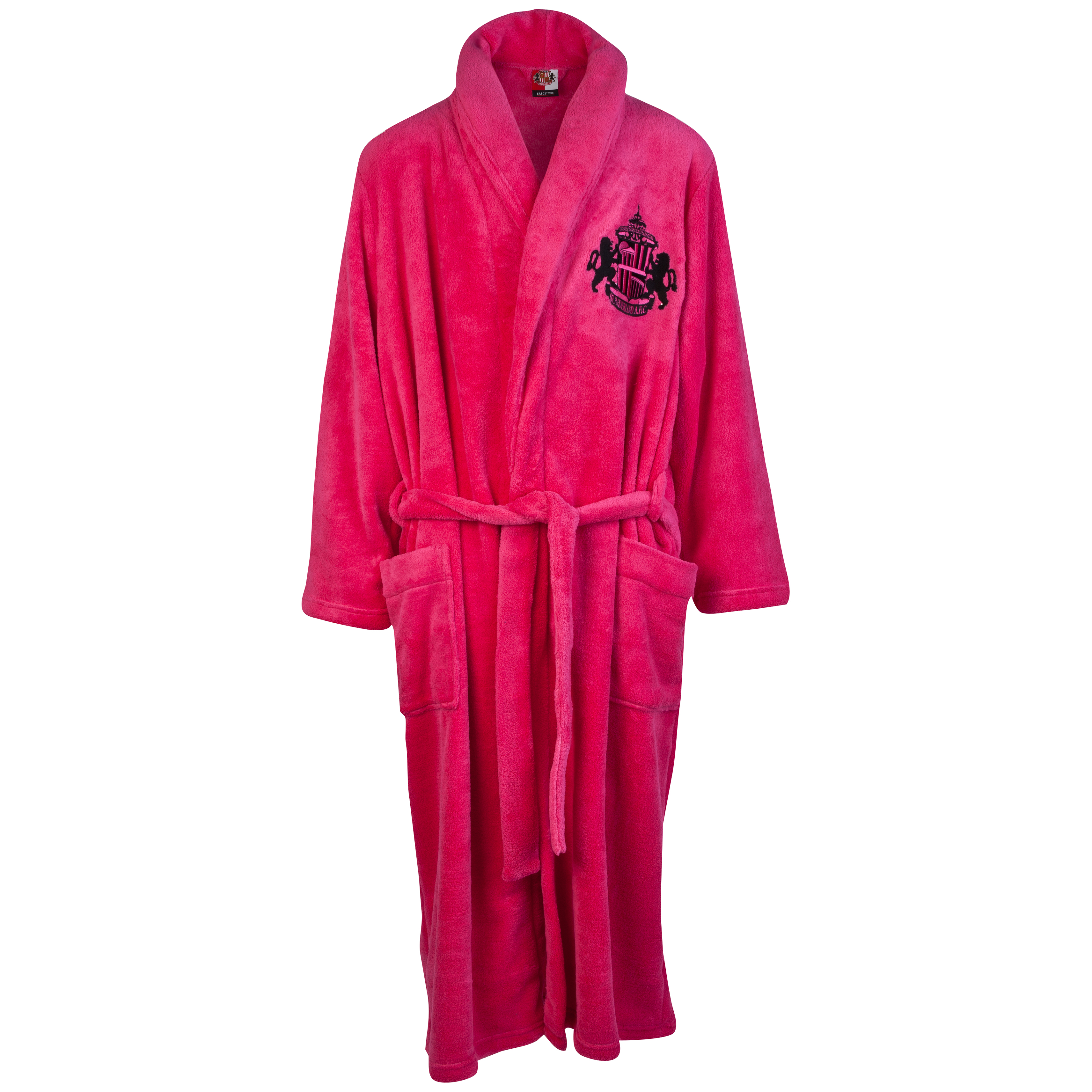 Sunderland Supersoft Robe - Pink - Womens