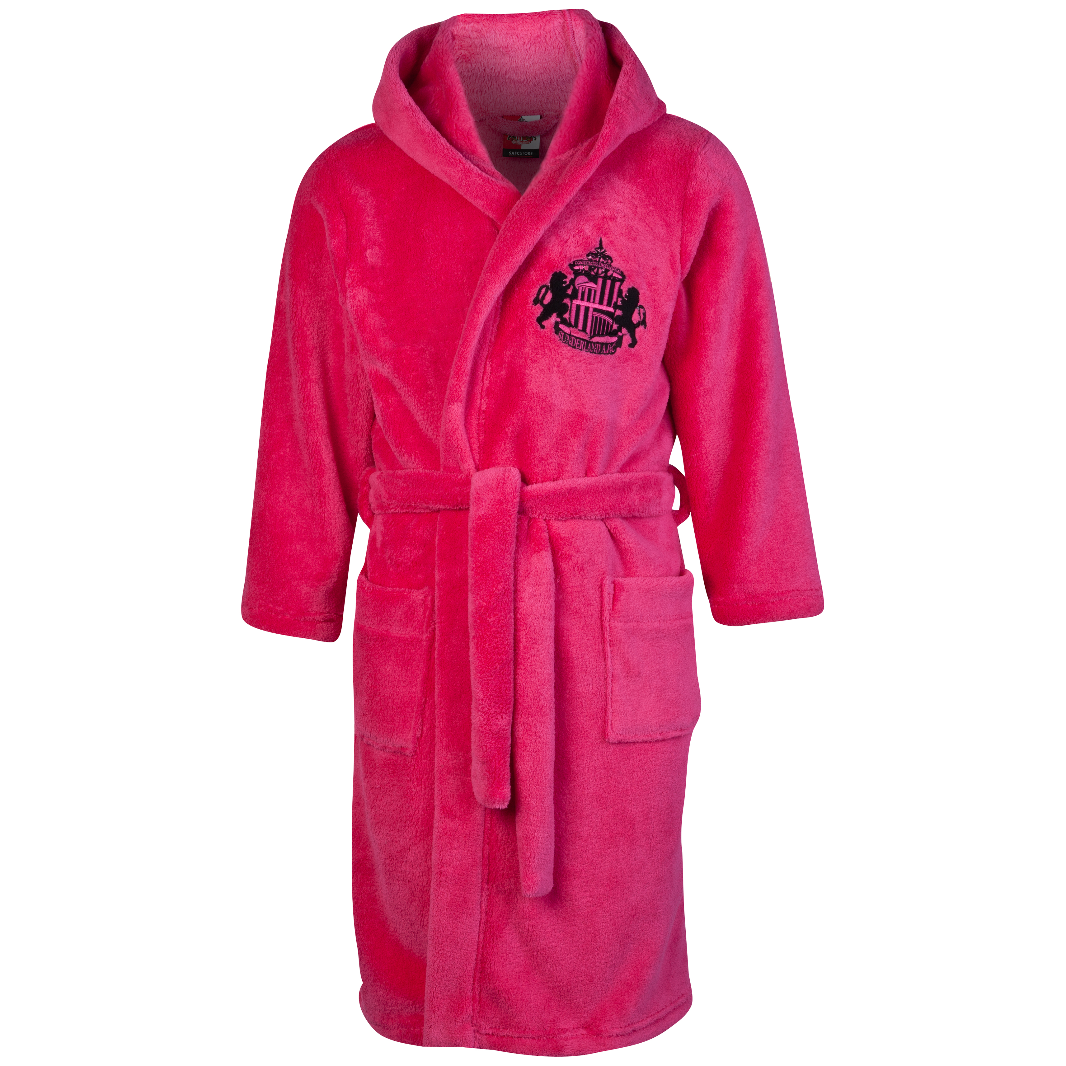 Sunderland Supersoft Robe - Pink - Girls