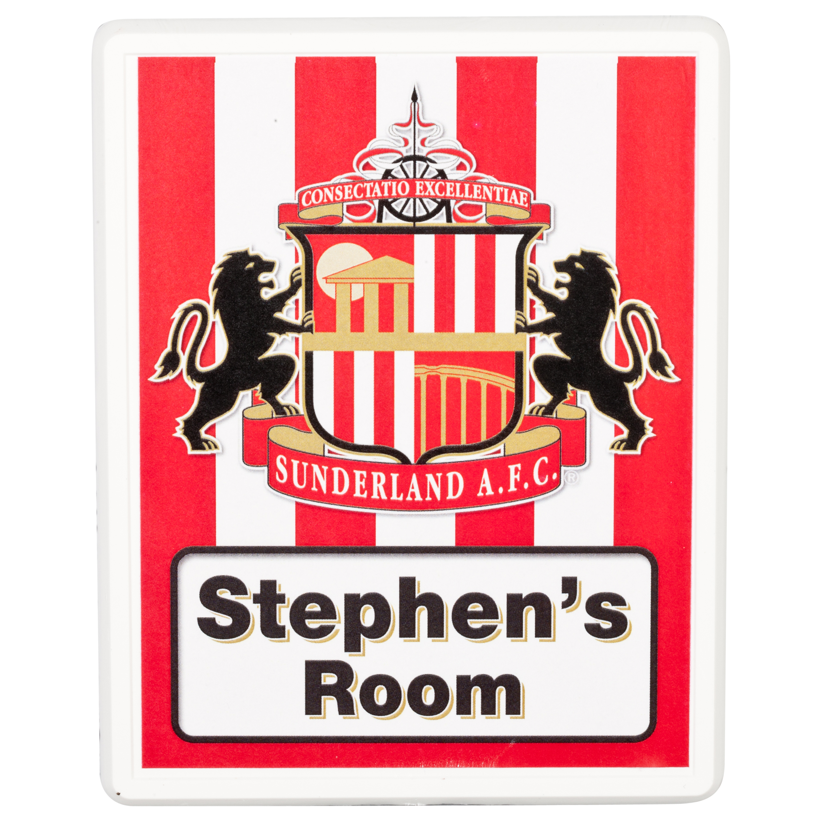 Sunderland Personalised Door Plaques