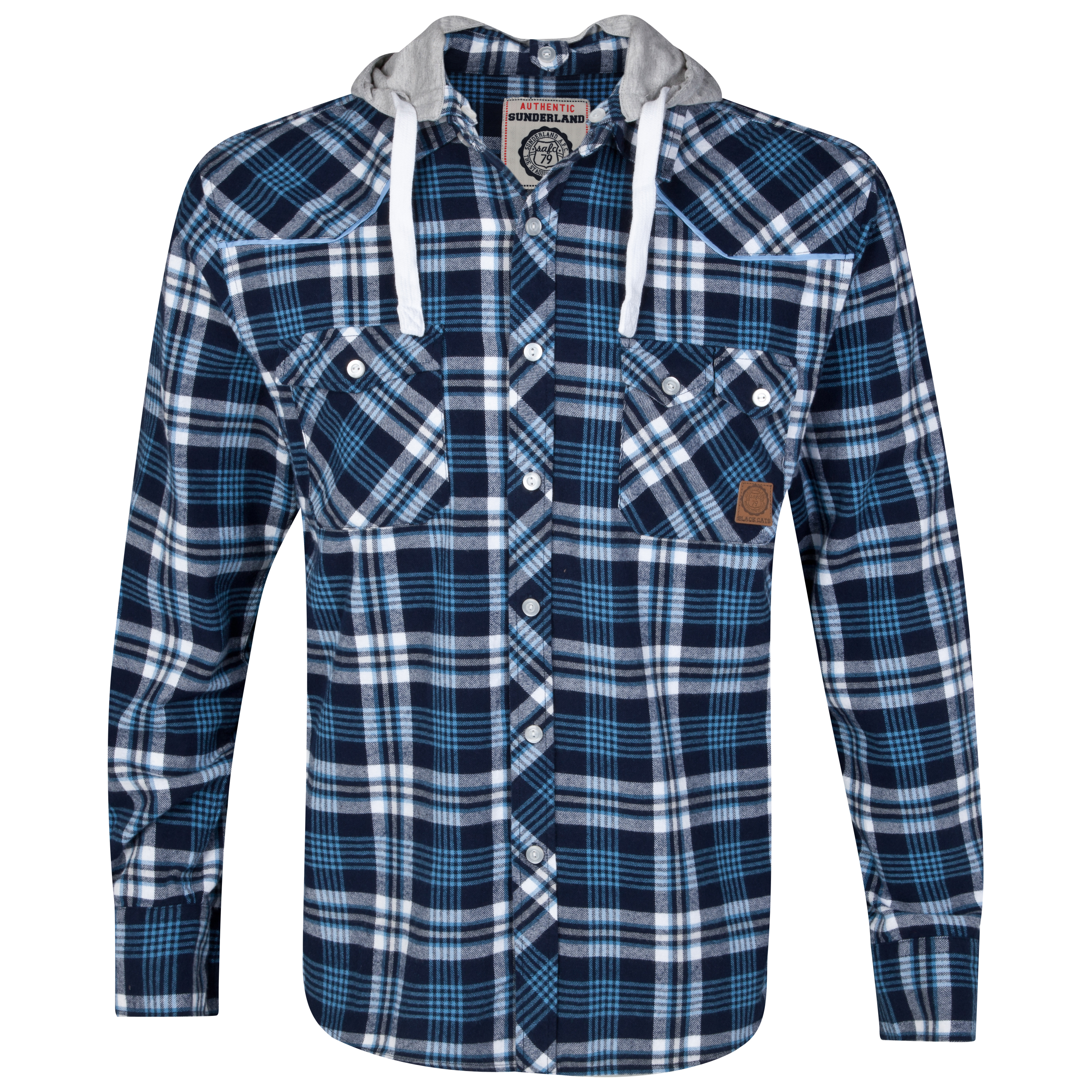 Sunderland Ranch Shirt - Blue Check