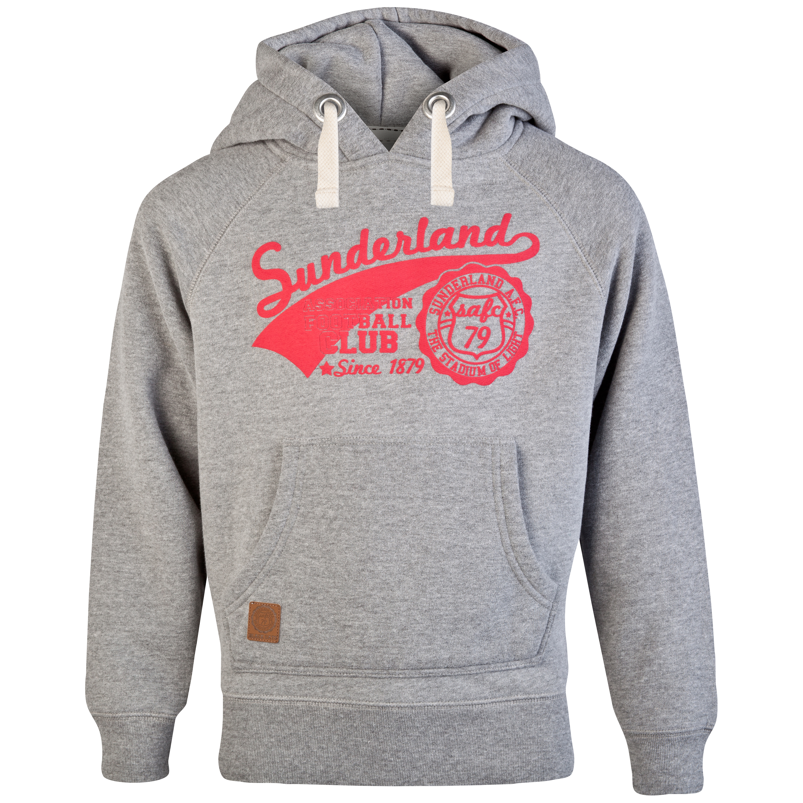Sunderland Hampshire Hoodie - Grey Marl - Older Boys