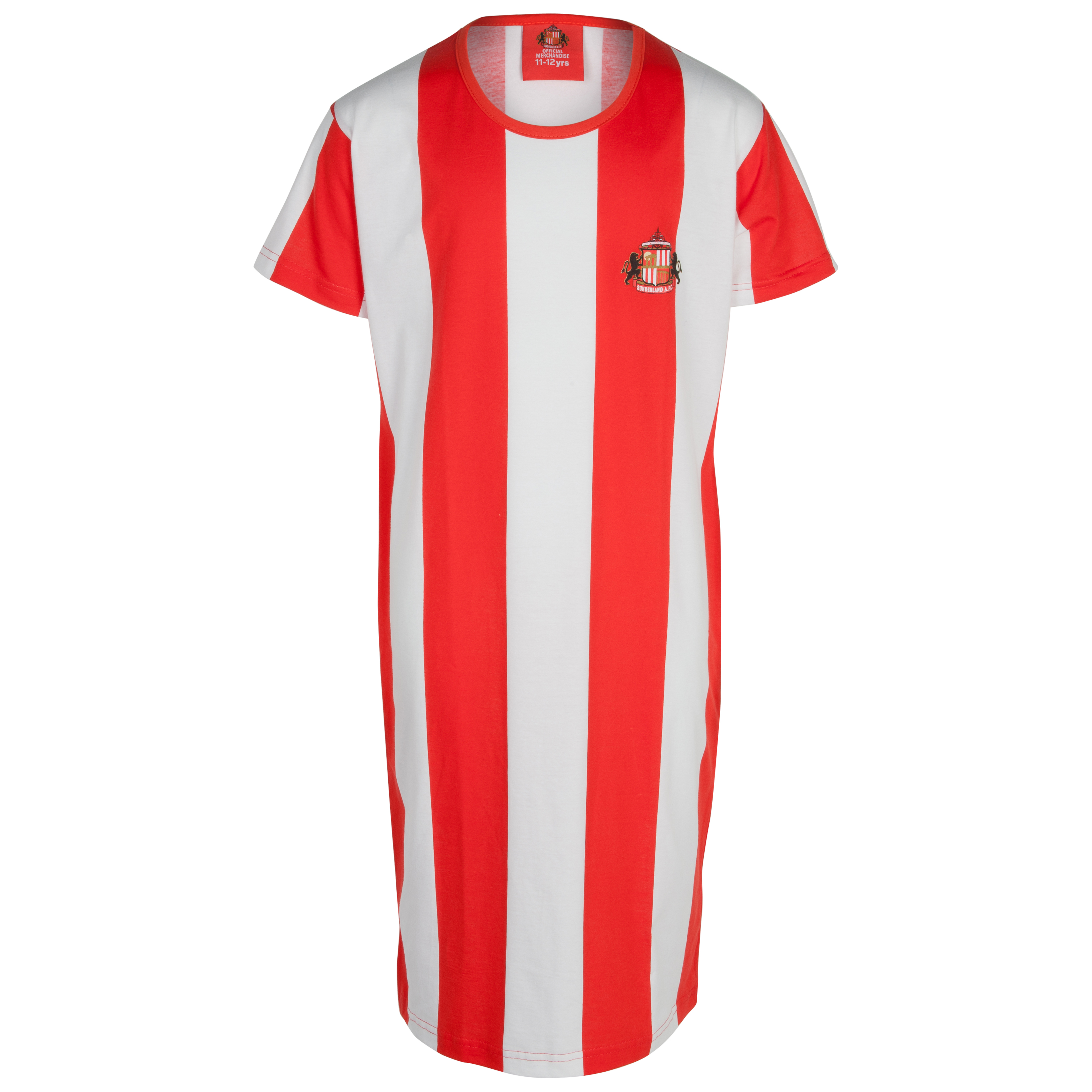 Sunderland Stripe Girls Nightie