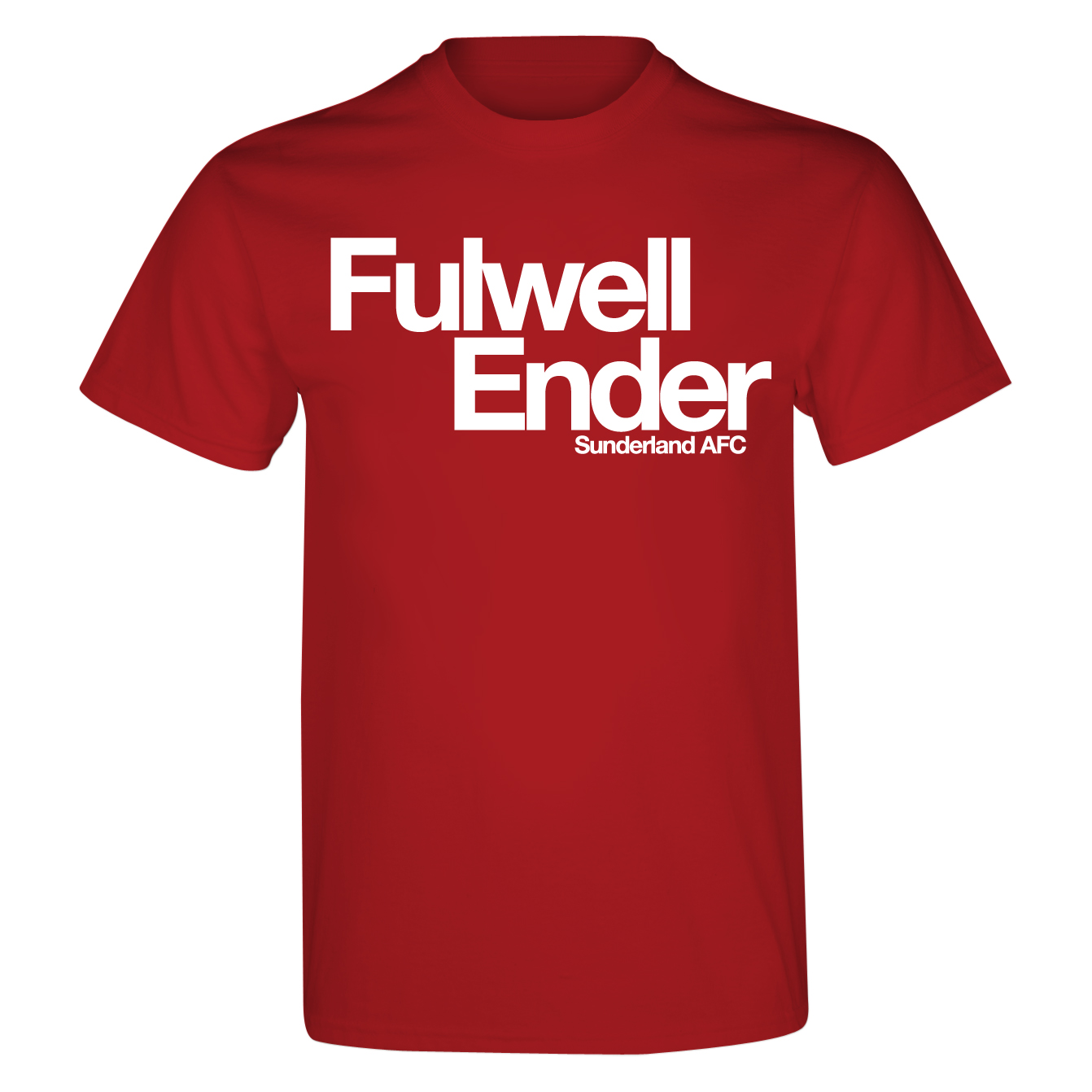 Sunderland 2for£20 Fulwell T-Shirt - Red