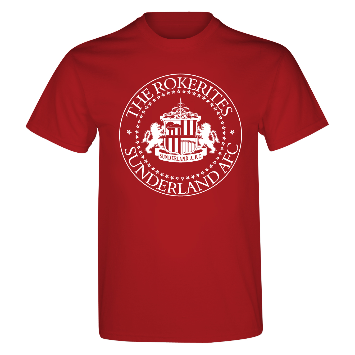 Sunderland 2 For T Rockerites T-Shirt- Junior Red