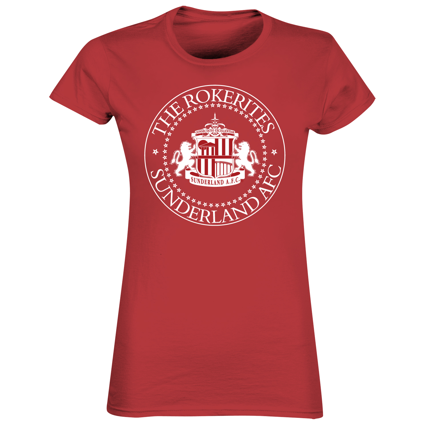 Sunderland 2for£20 Rokerites T-Shirt - Red - Womens