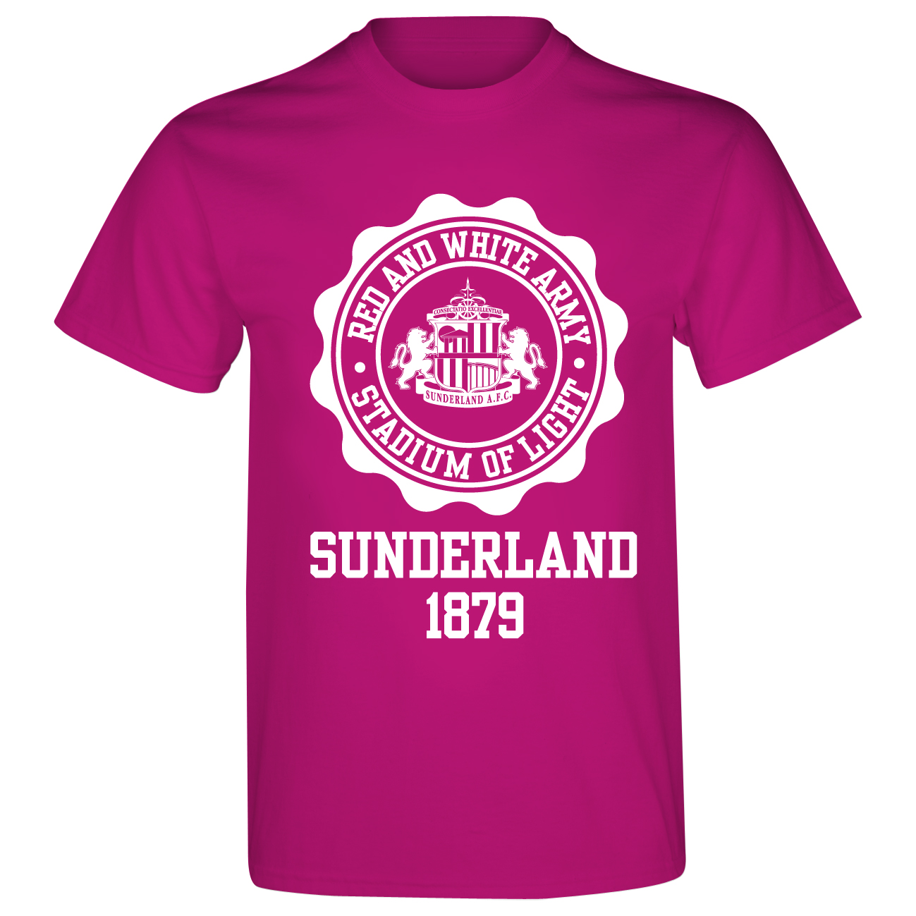 Sunderland 2for£15 Rosette T-Shirt - Pink/White -Junior