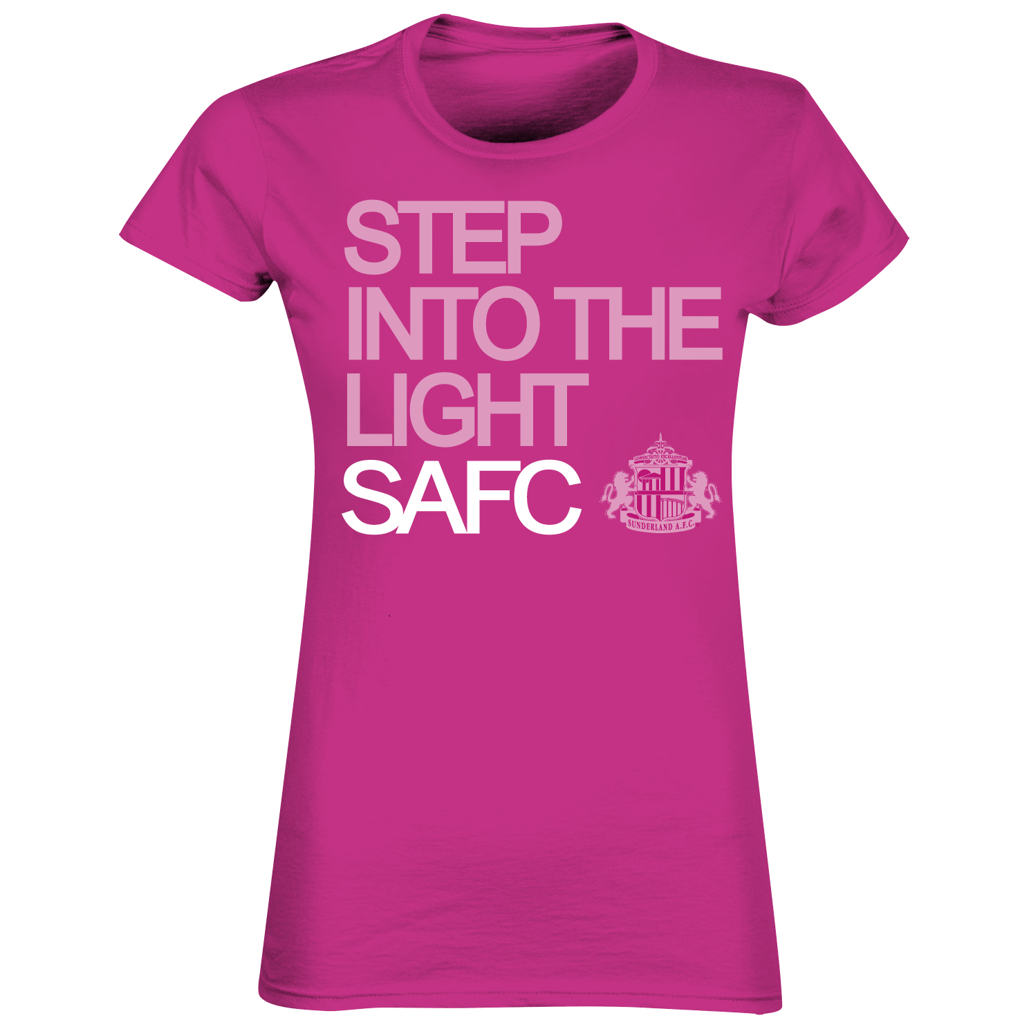 Sunderland 2for£20 Step T-Shirt Pink - Womens