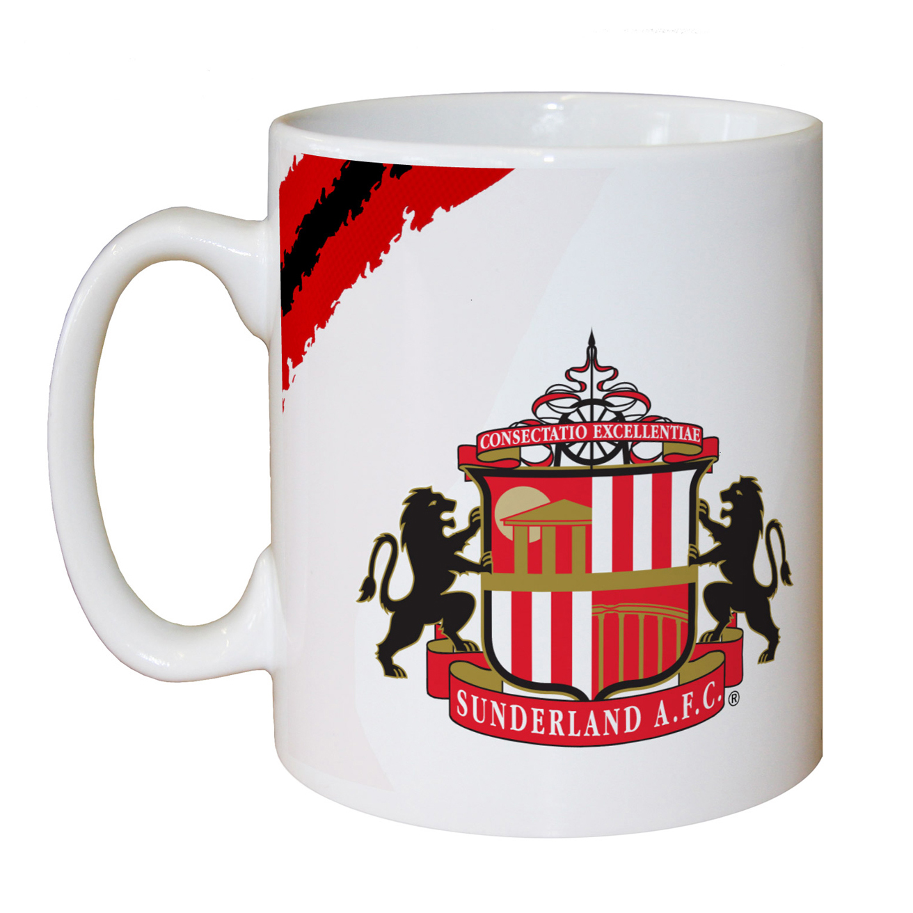 Sunderland Personalised Proud to be Red and White Mug