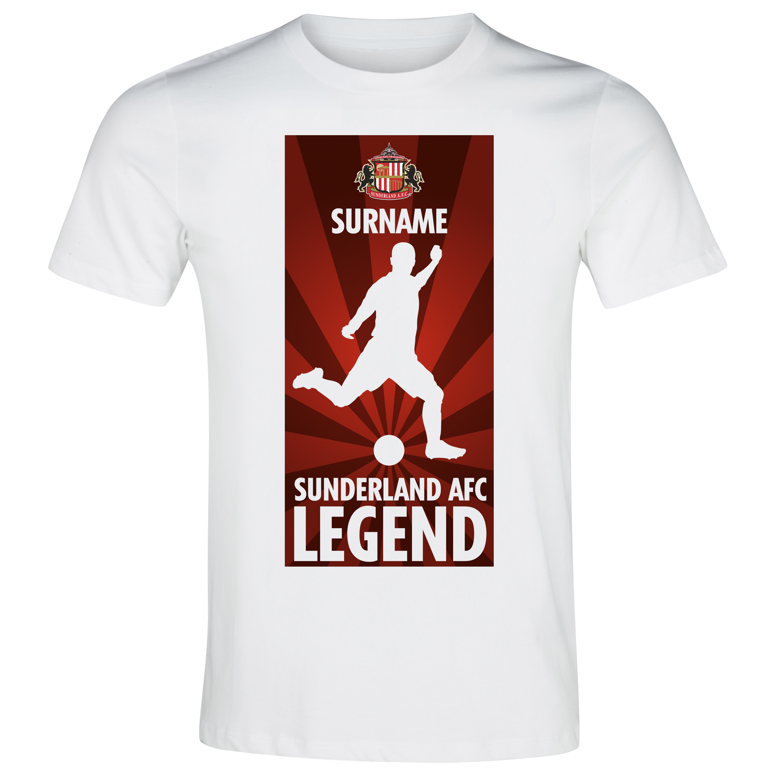 Sunderland Personalised Legend T-Shirt