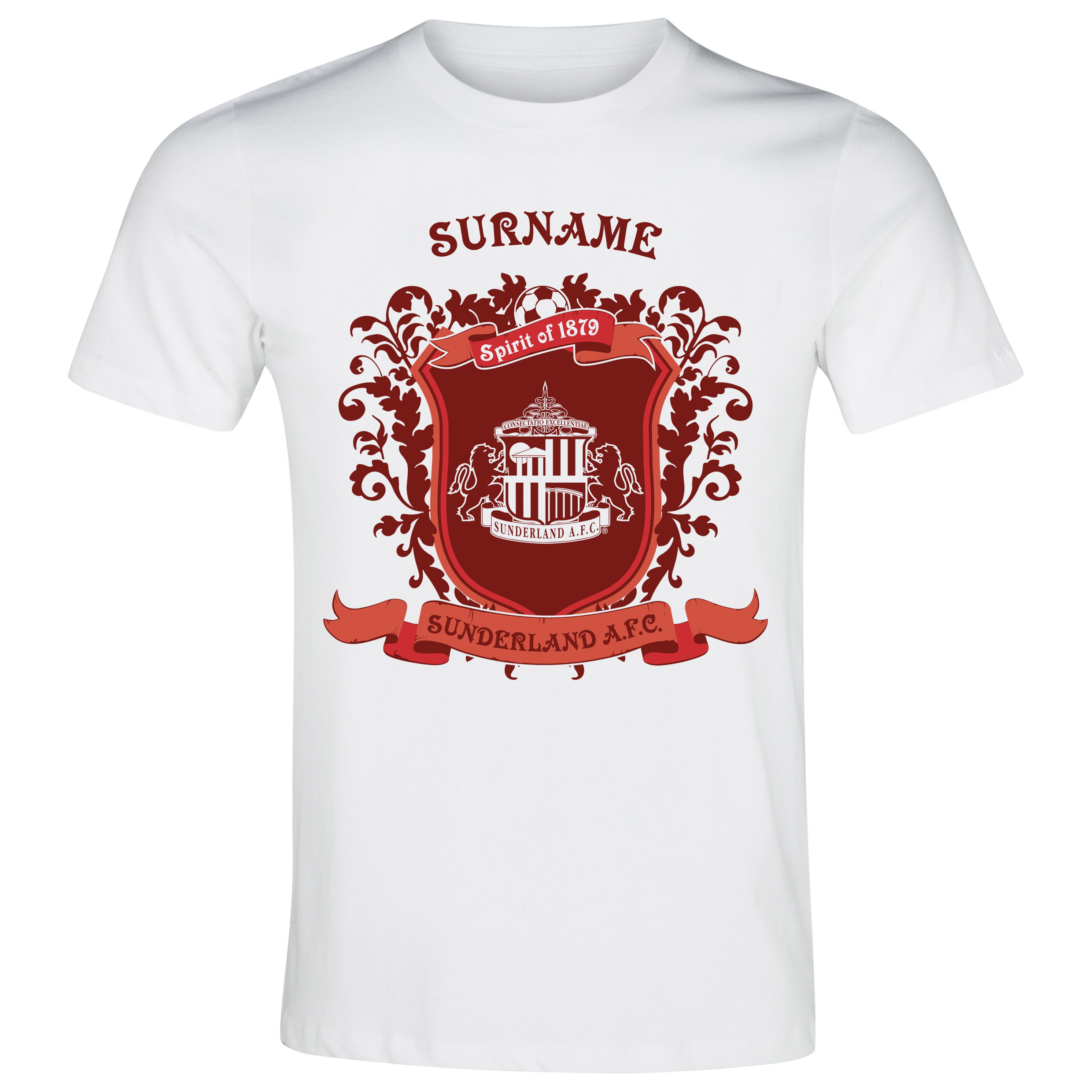 Sunderland Personalised Spirit of T-Shirt