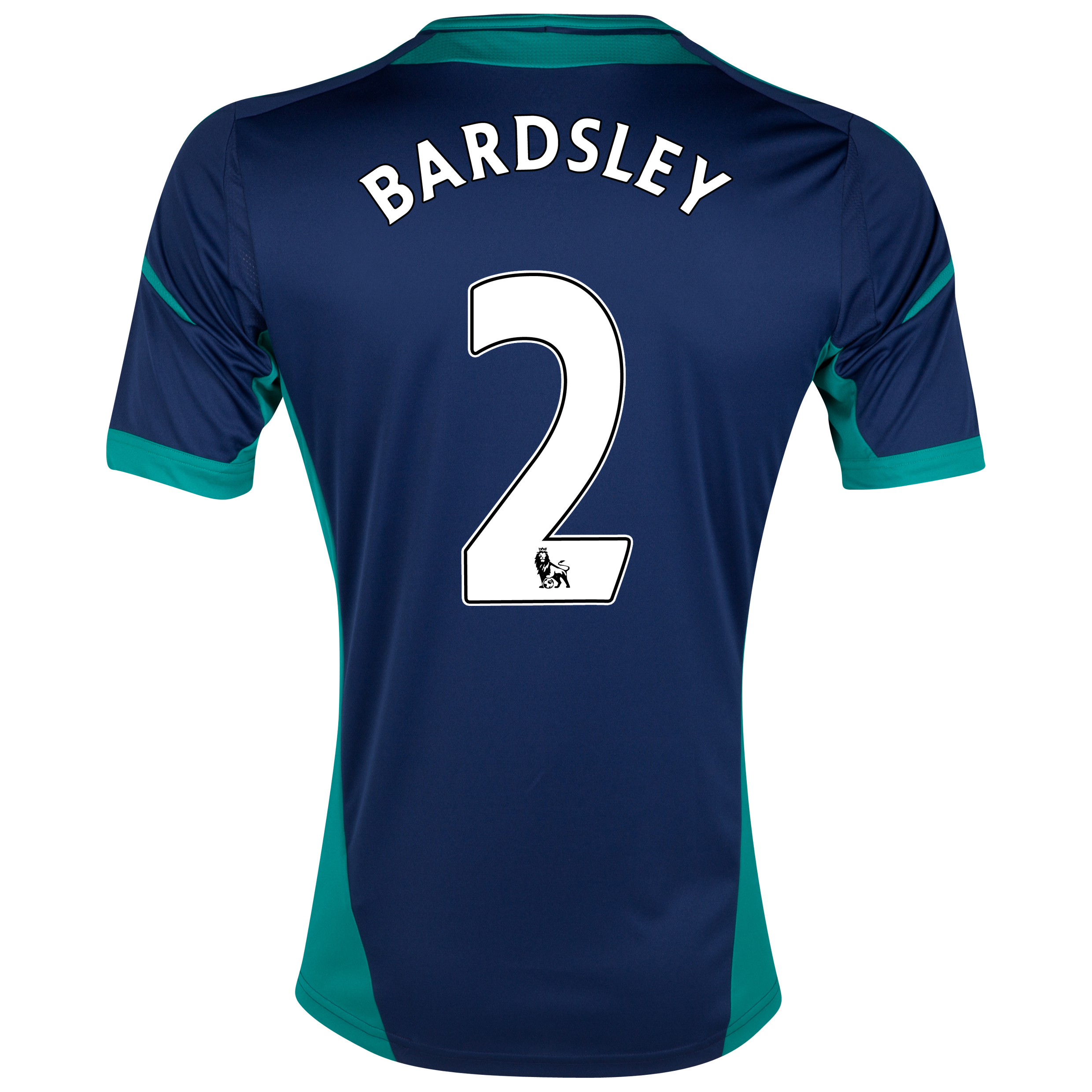 Sunderland Away Shirt 2012/13 with Bardsley 2 printing