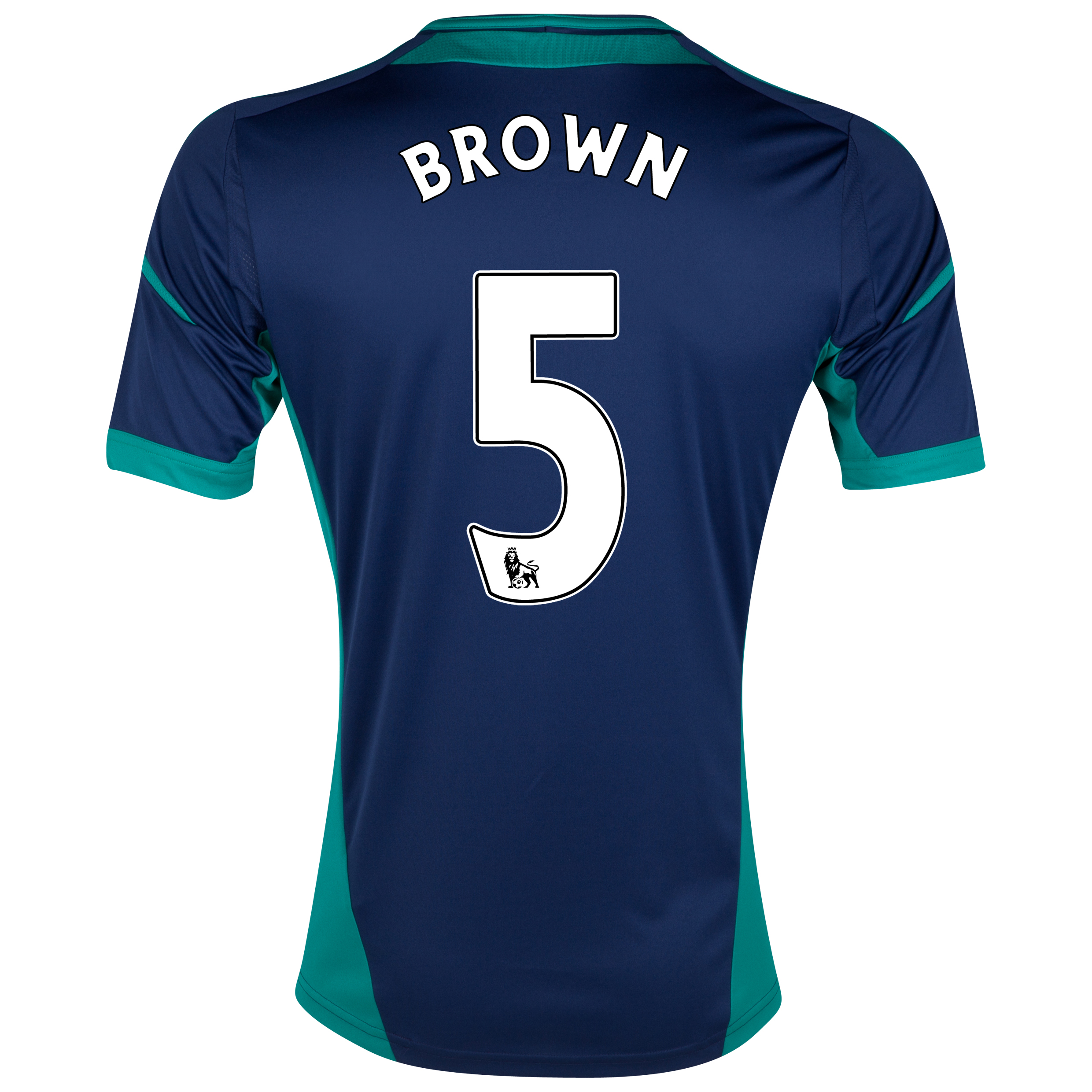 Sunderland Away Shirt 2012/13 with Brown 5 printing