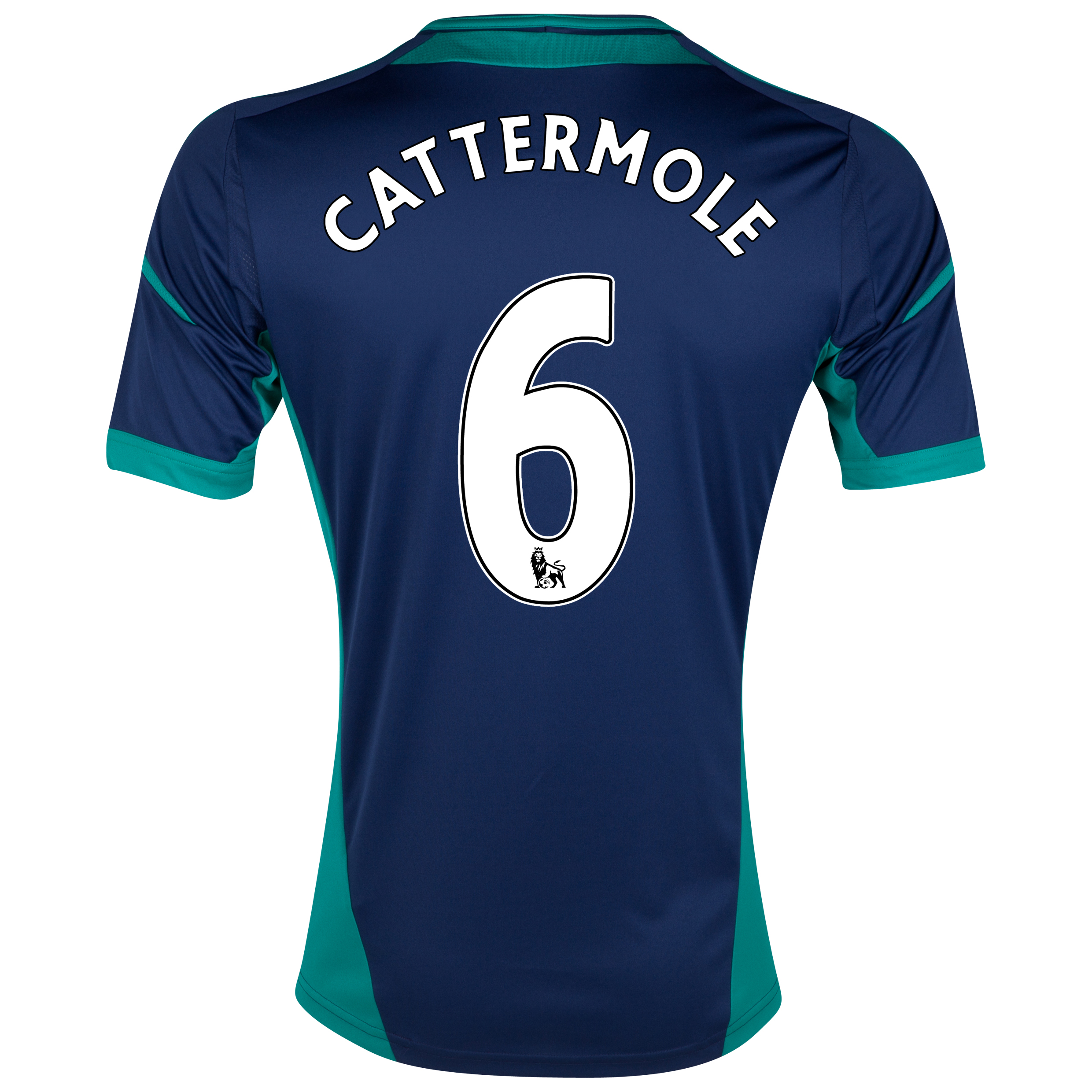 Sunderland Away Shirt 2012/13 with Cattermole 6 printing