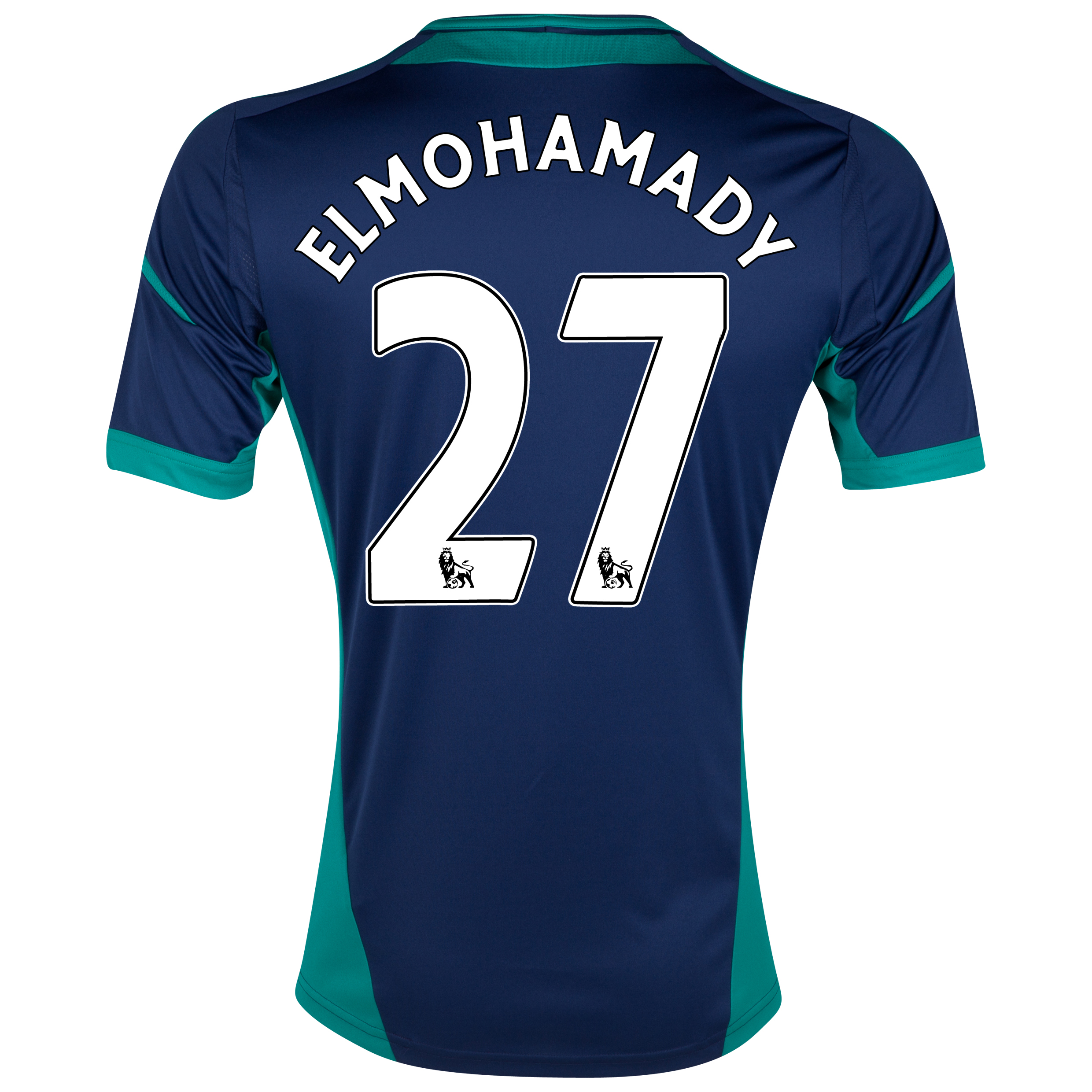 Sunderland Away Shirt 2012/13 with Elmohamady 27 printing