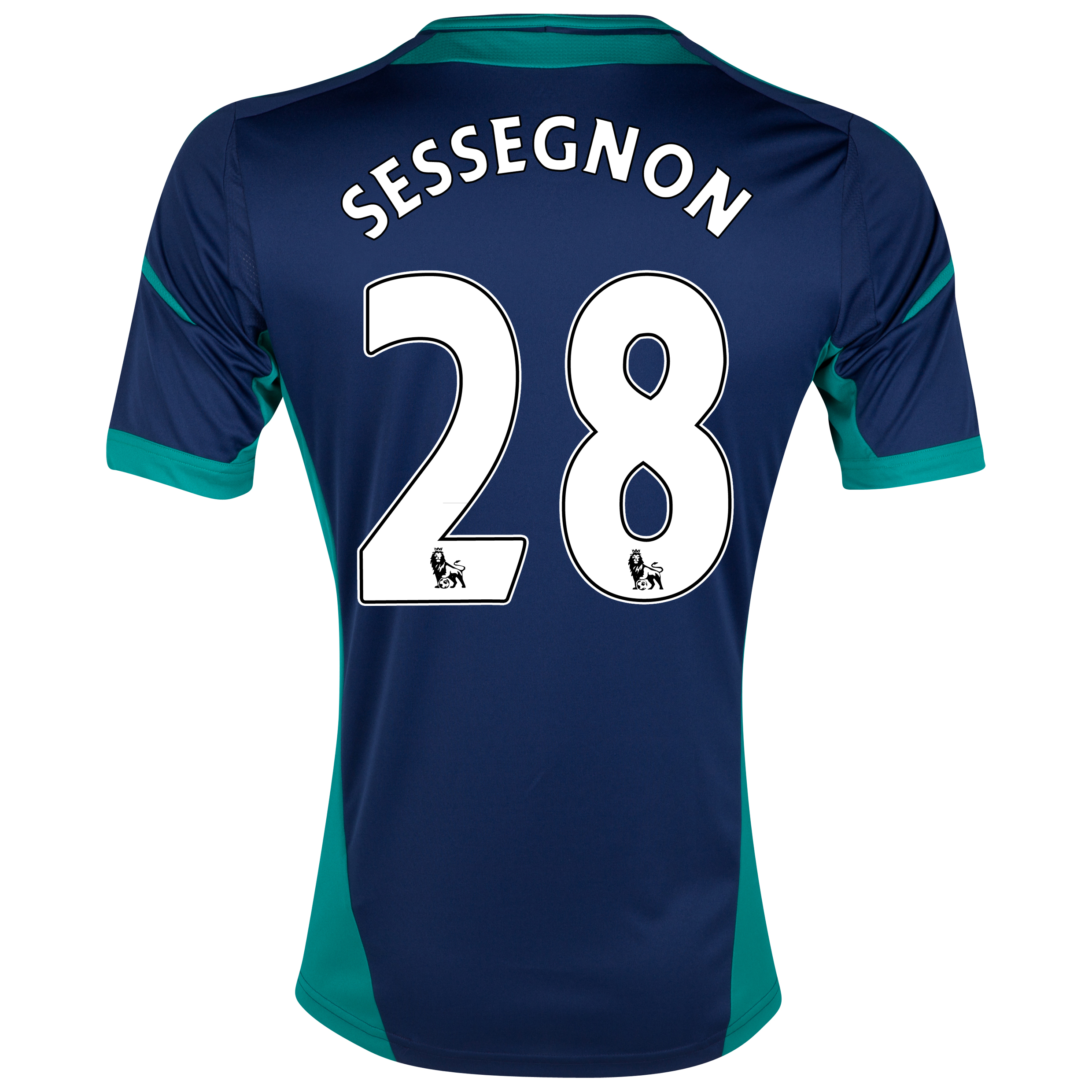 Sunderland Away Shirt 2012/13 with Sessegnon 28 printing