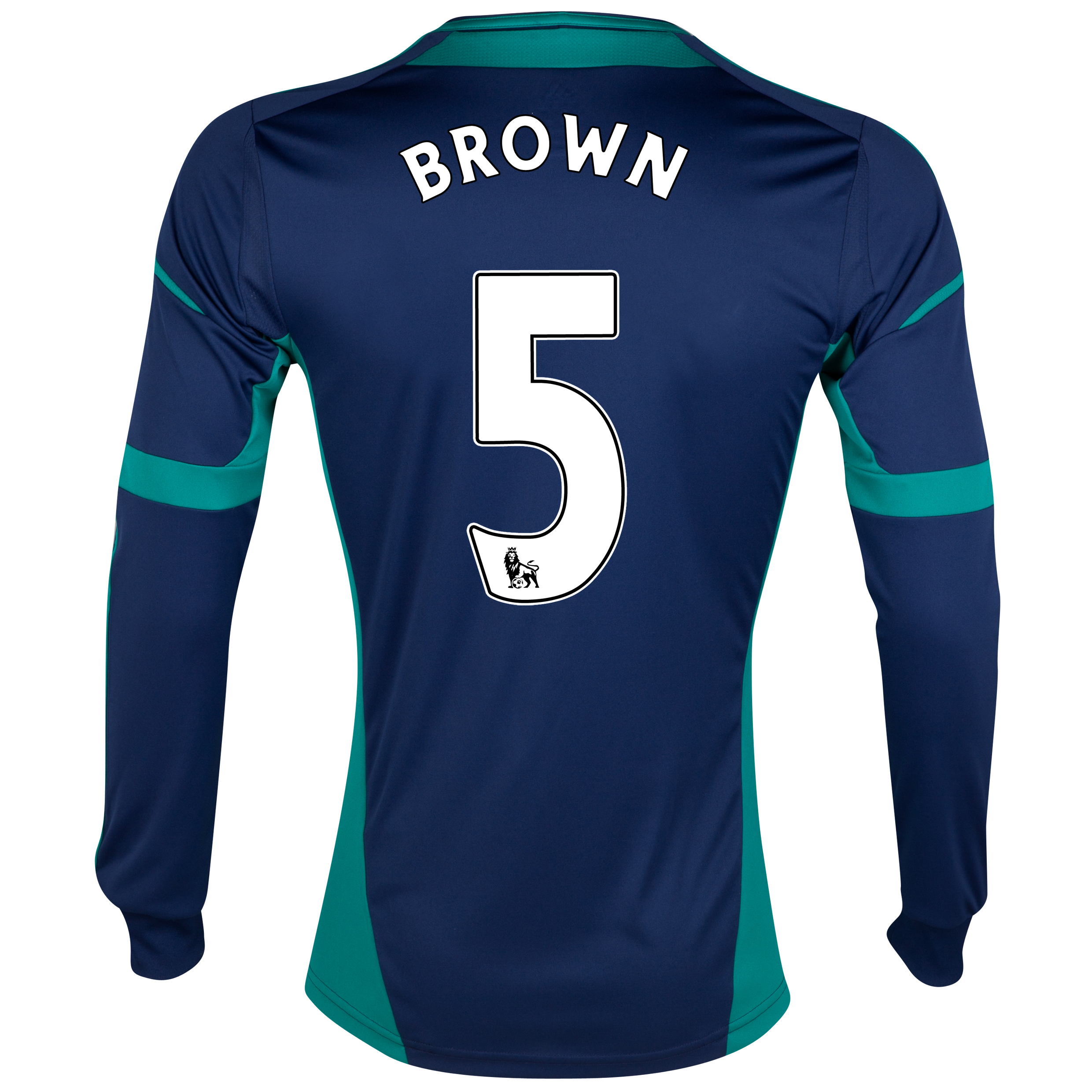 Sunderland Away Shirt 2012/13 - Long Sleeved with Brown 5 printing