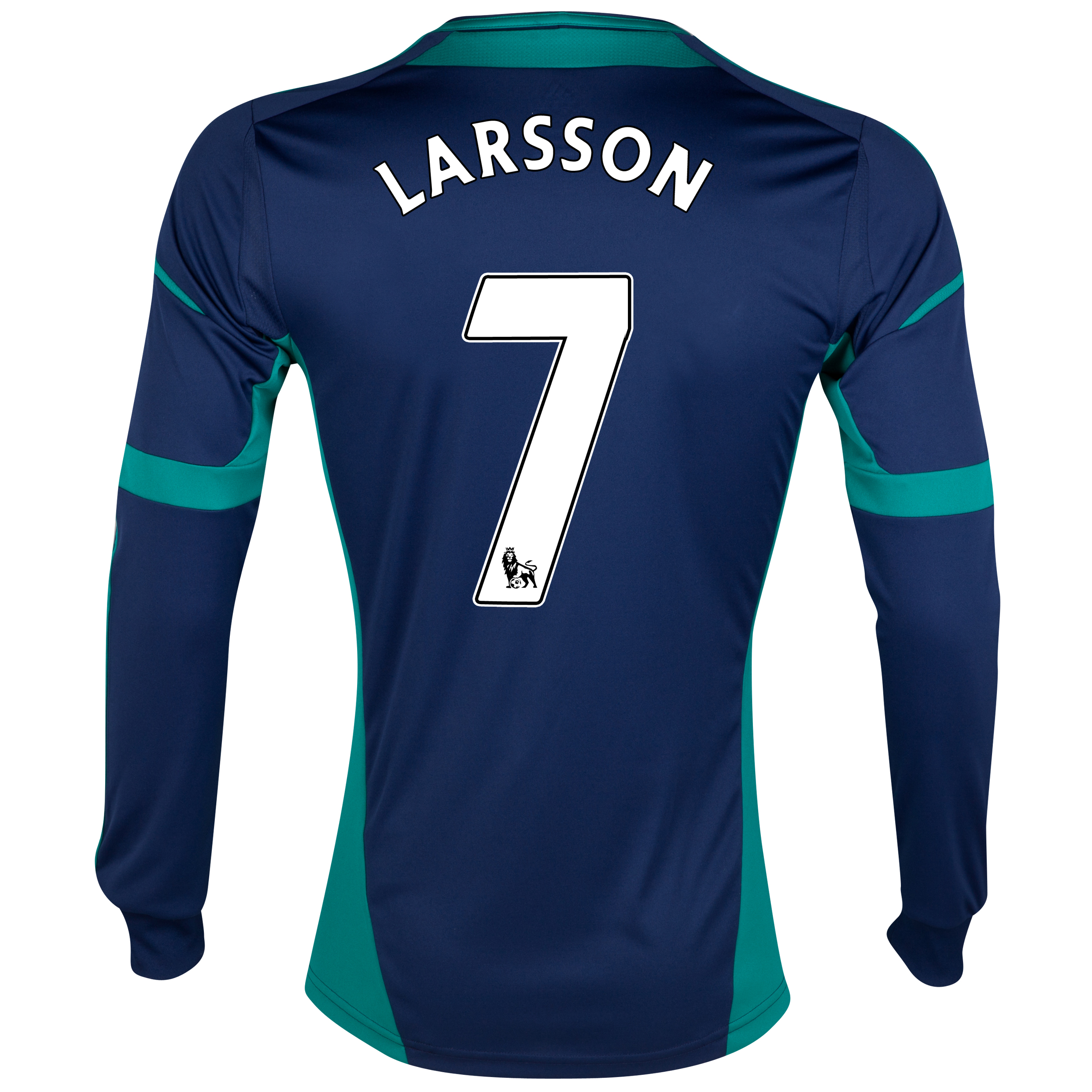 Sunderland Away Shirt 2012/13 - Long Sleeved with Larsson 7 printing