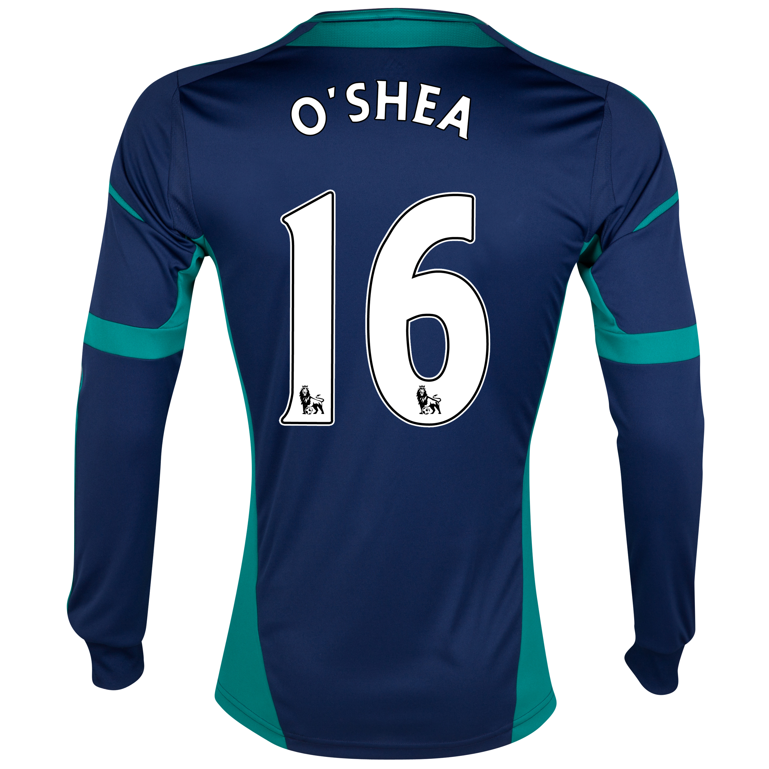 Sunderland Away Shirt 2012/13 - Long Sleeved with O'Shea 16 printing