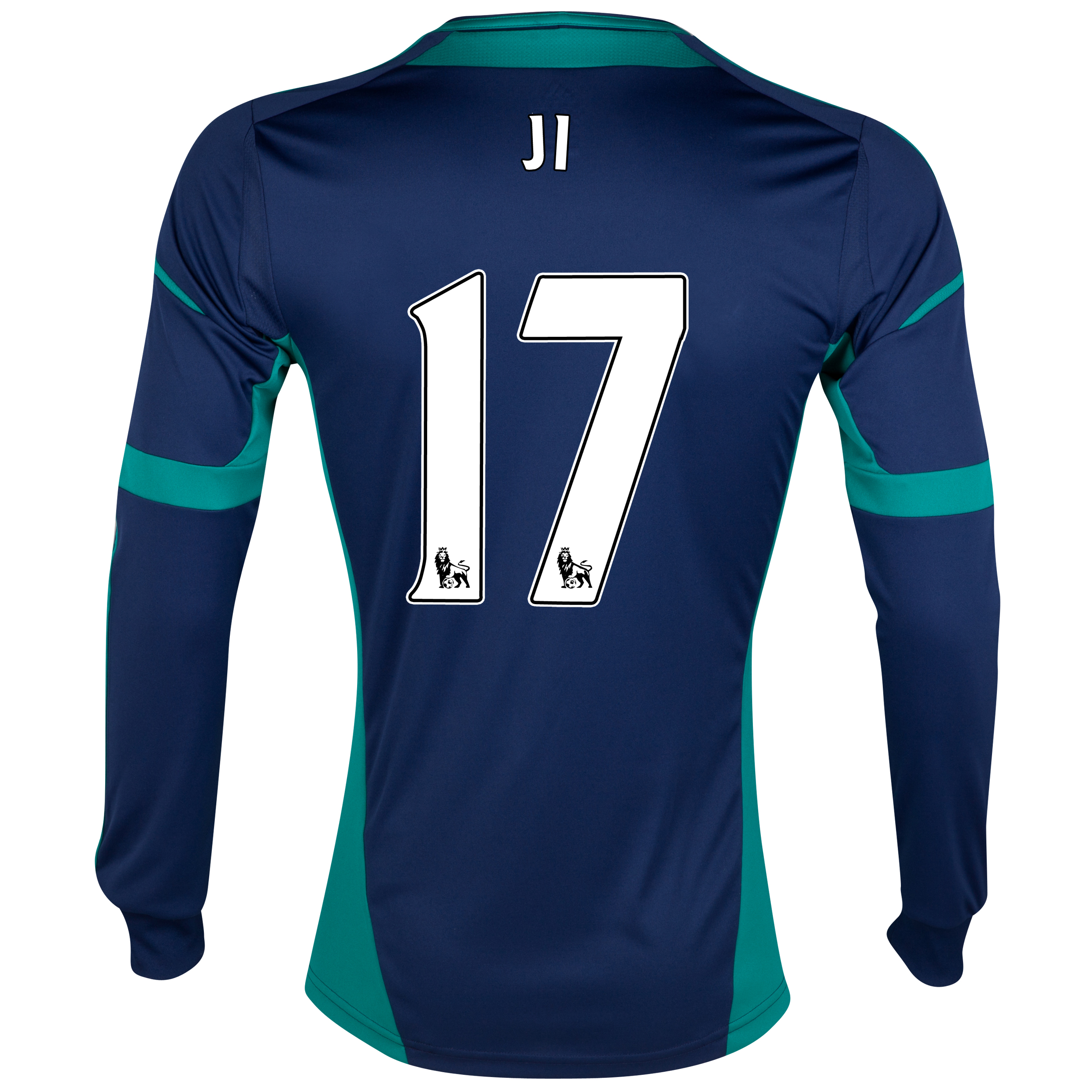 Sunderland Away Shirt 2012/13 - Long Sleeved with Ji 17 printing