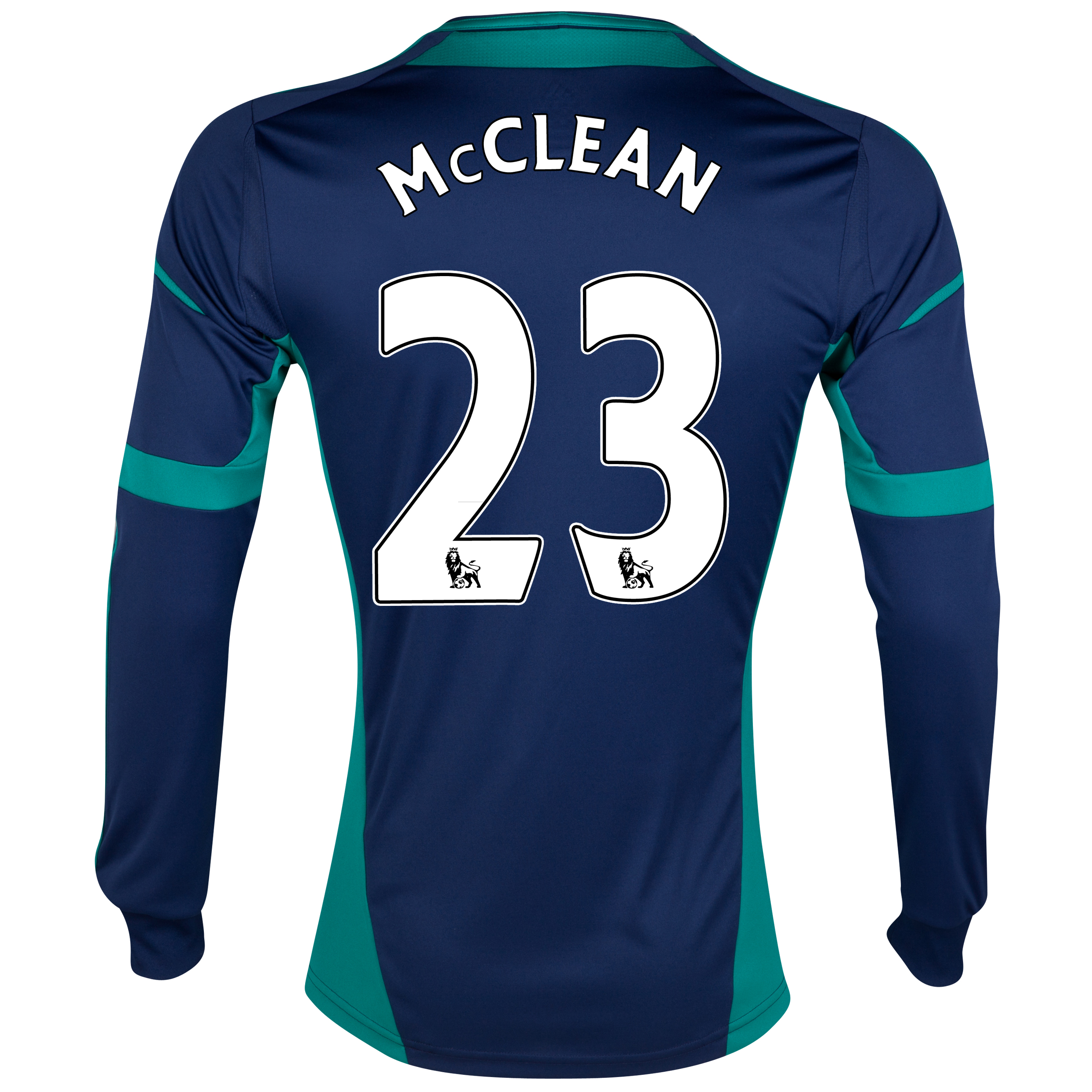 Sunderland Away Shirt 2012/13 - Long Sleeved with McClean 23 printing