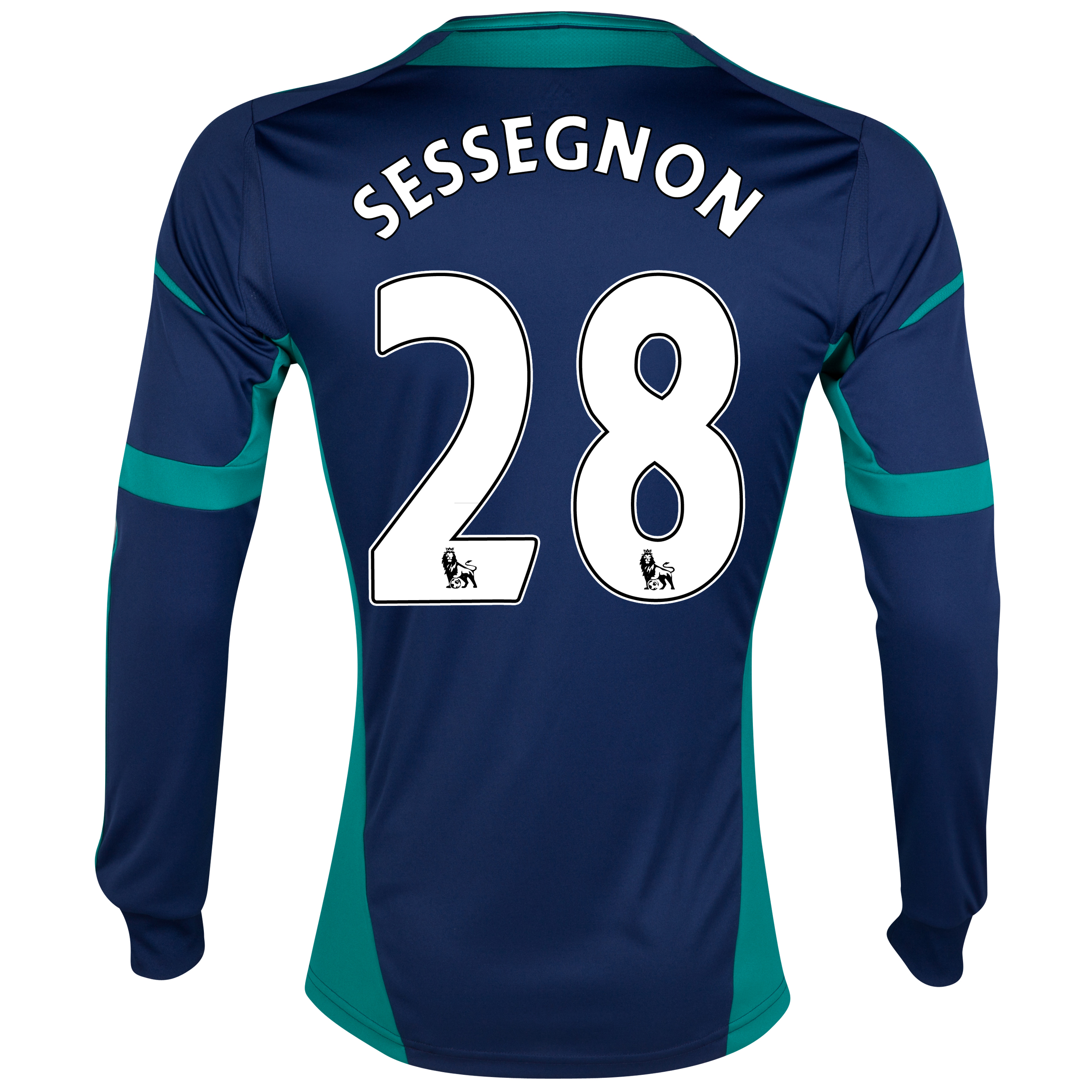 Sunderland Away Shirt 2012/13 - Long Sleeved with Sessegnon 28 printing