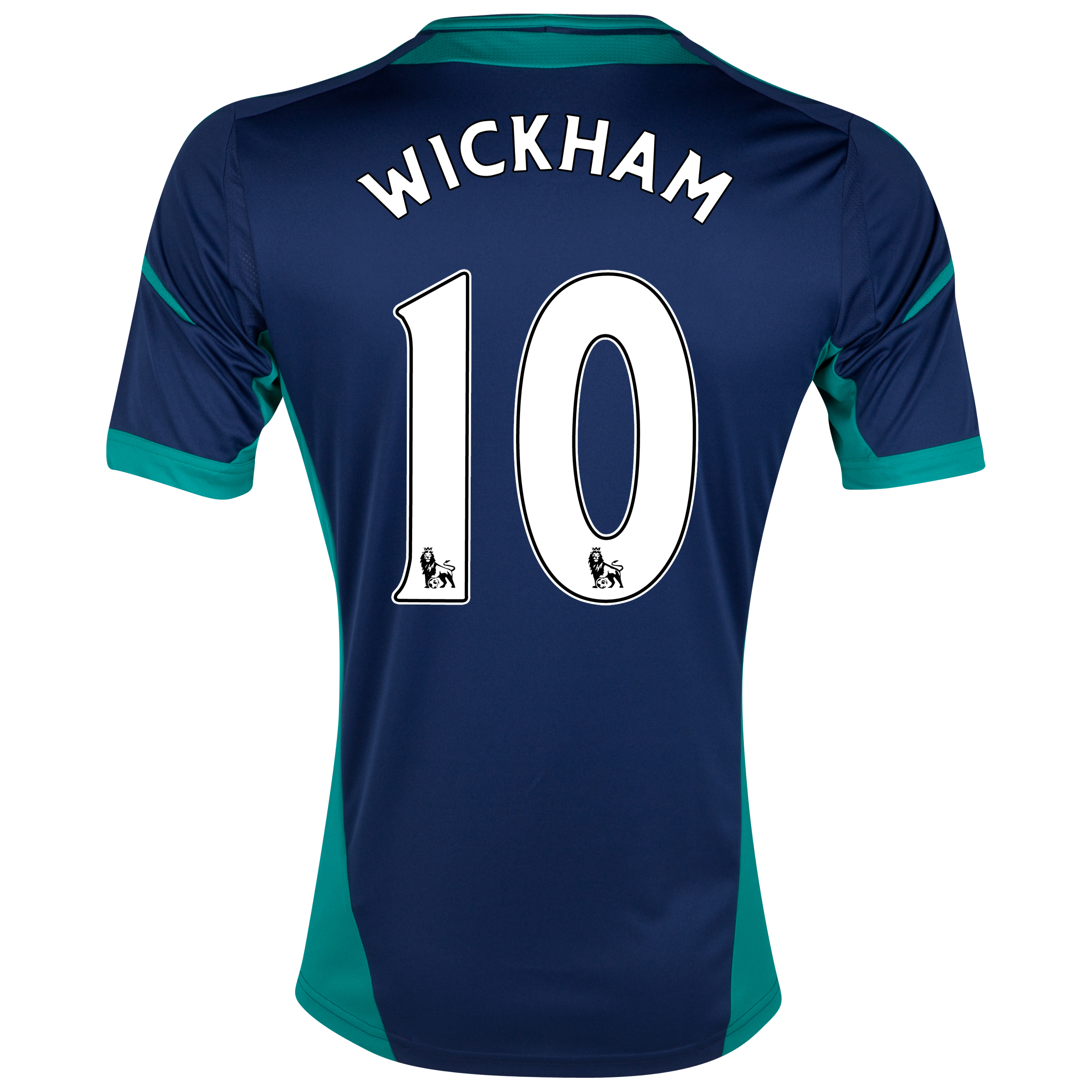 Sunderland Away Shirt 2012/13 - Junior with Wickham 10 printing