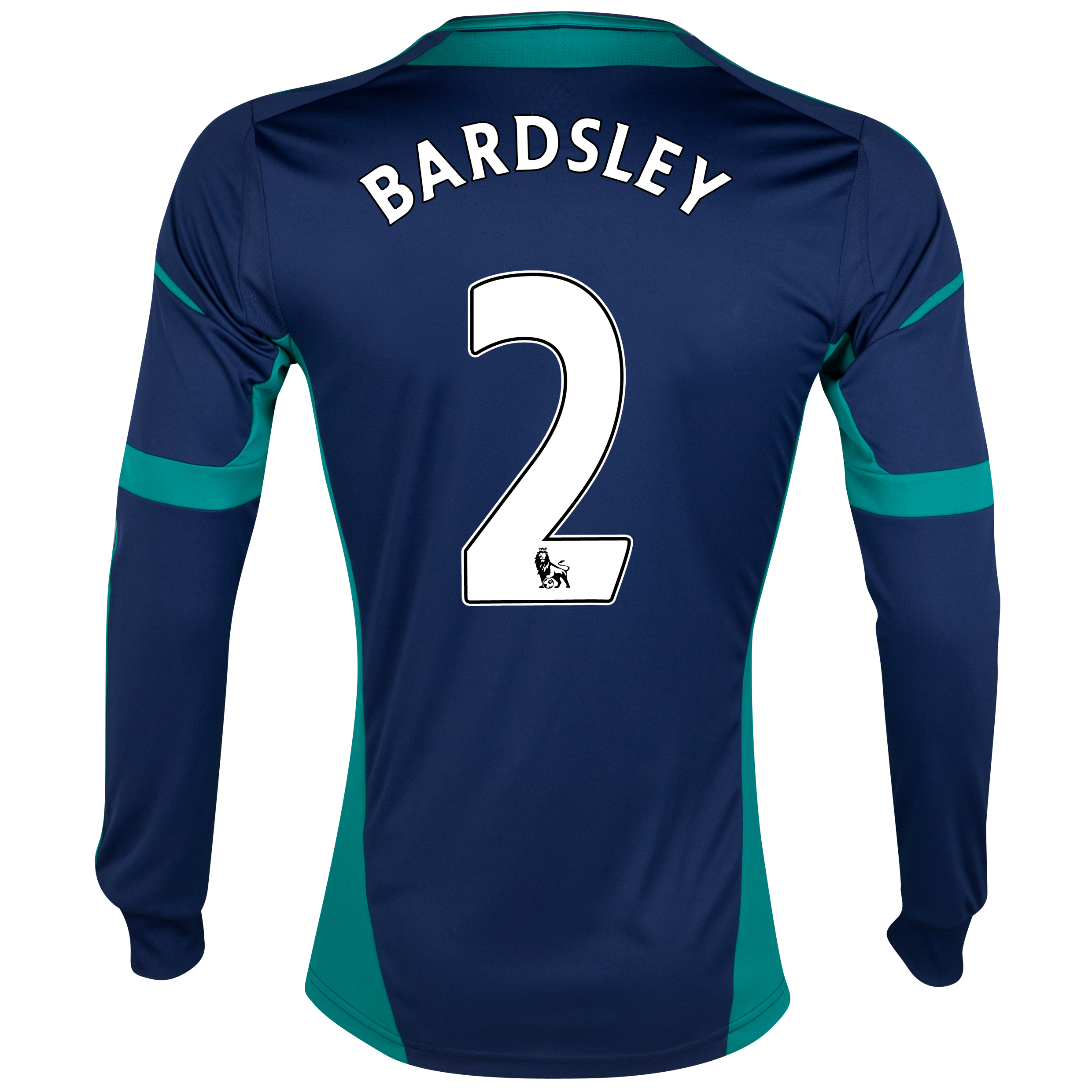 Sunderland Away Shirt 2012/13 - Long Sleeved - Junior with Bardsley 2 printing