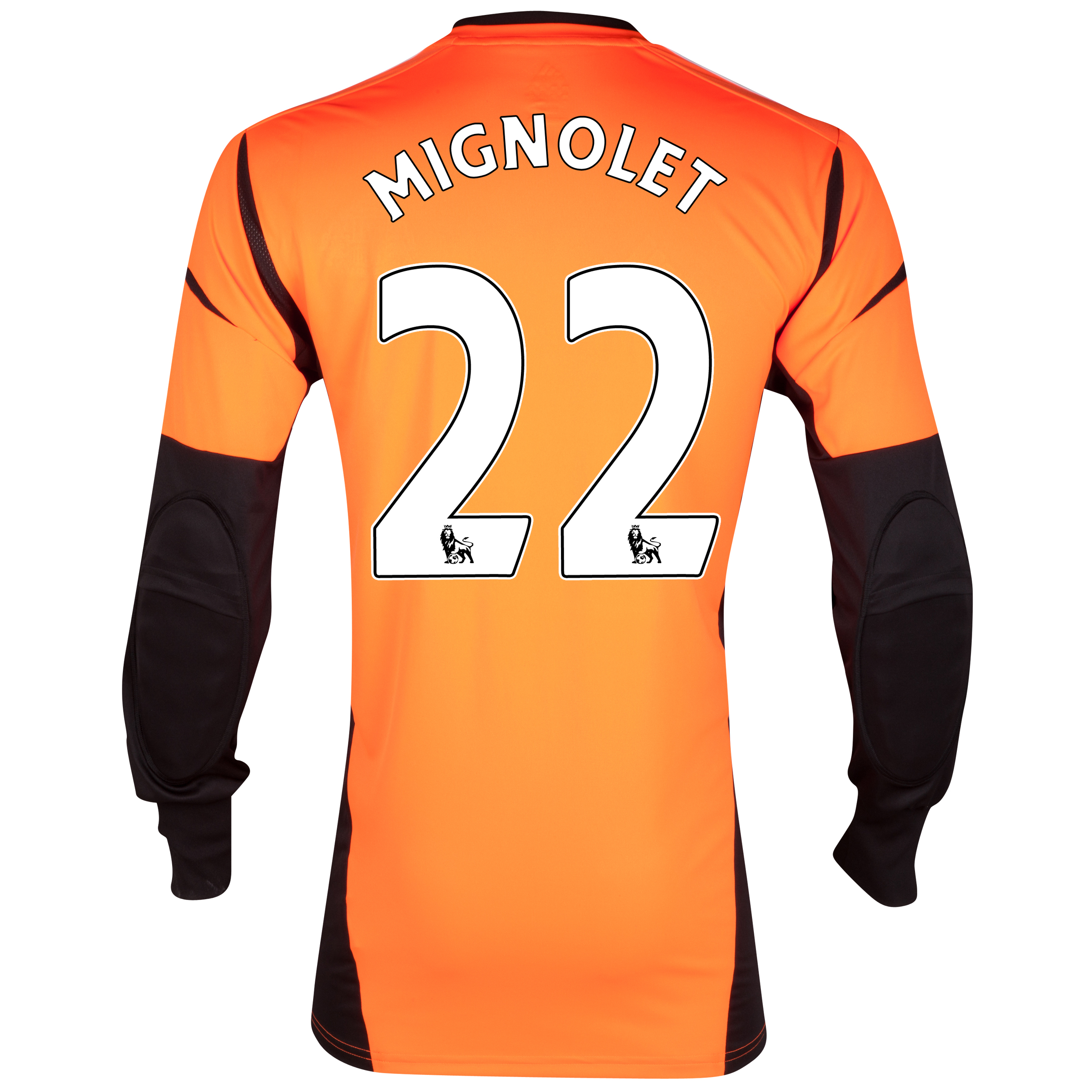 Sunderland Away GoalKeeper Shirt 2012/13 with Mignolet GK 22 printing