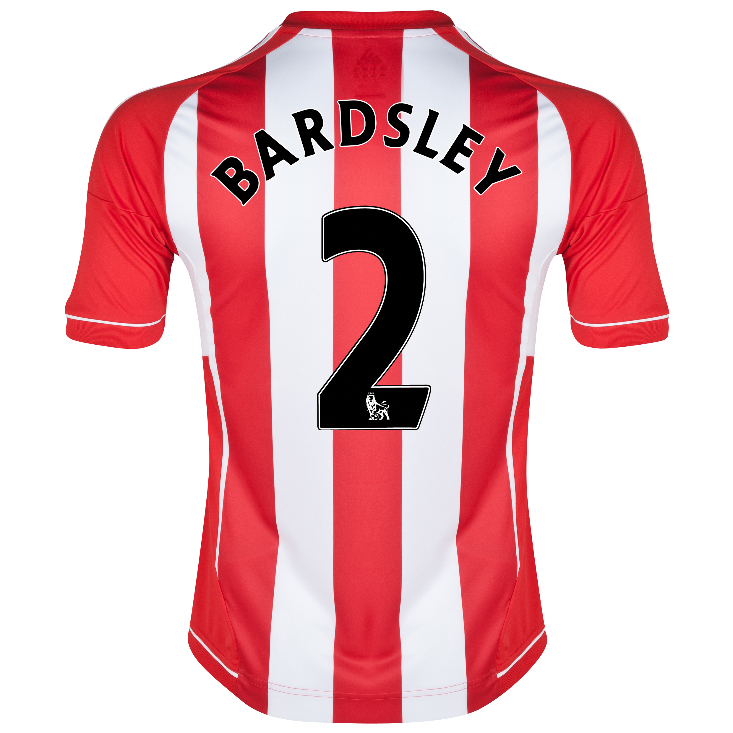 Sunderland Home Shirt 2012/13 with Bardsley 2 printing