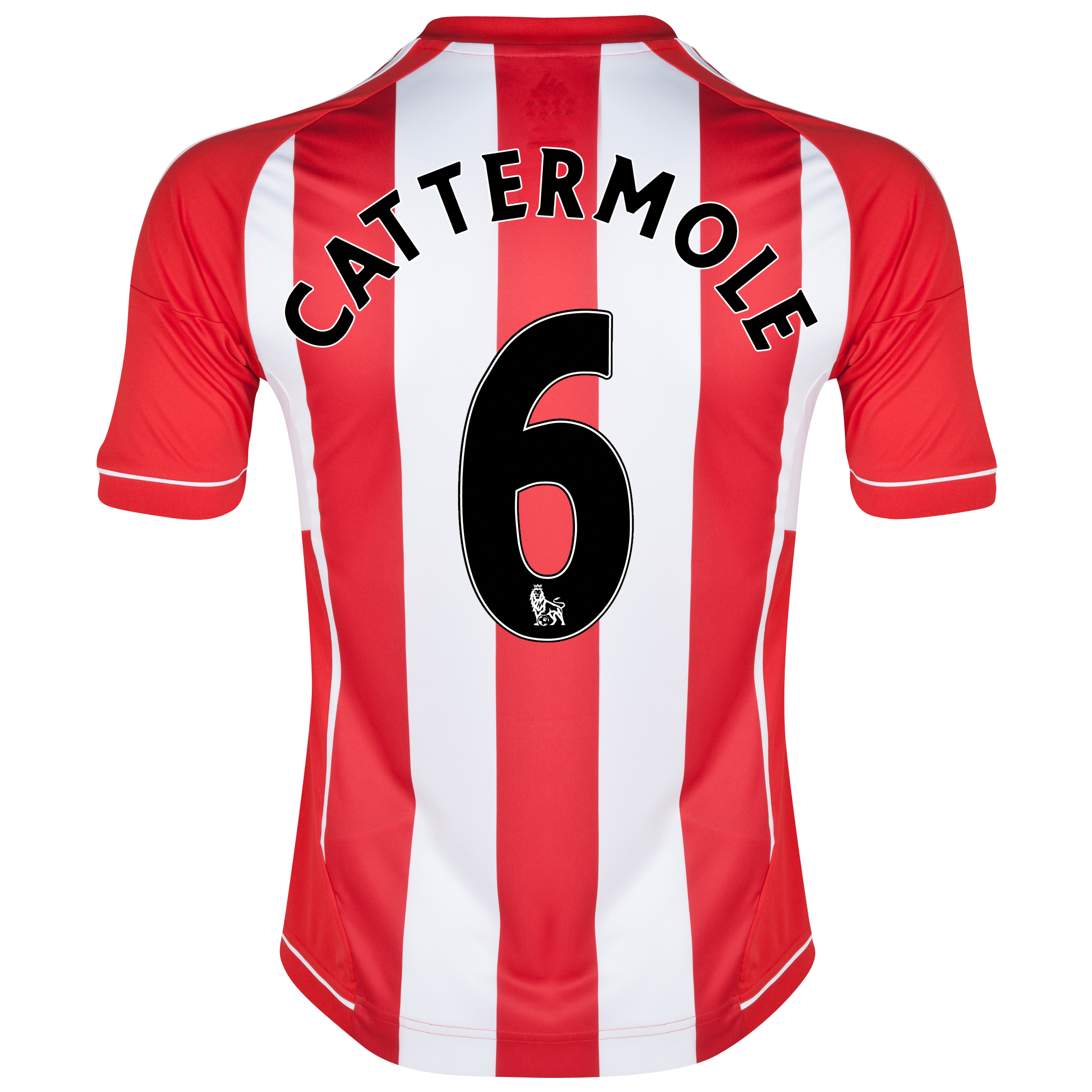 Sunderland Home Shirt 2012/13 with Cattermole 6 printing
