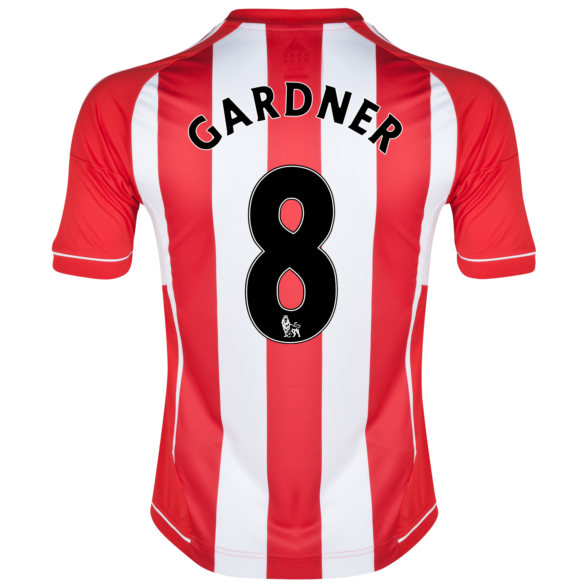 Sunderland Home Shirt 2012/13 with Gardner 8 printing