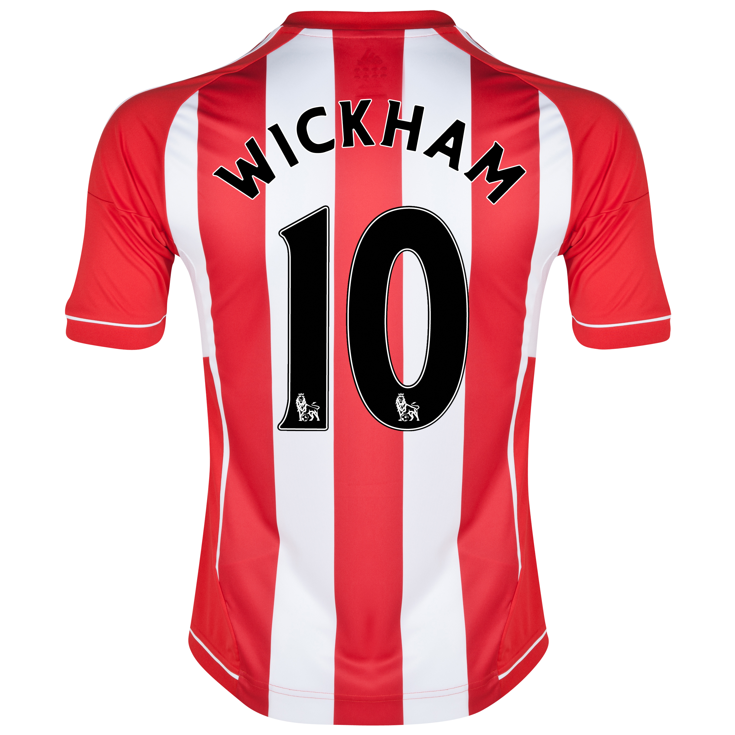 Sunderland Home Shirt 2012/13 with Wickham 10 printing