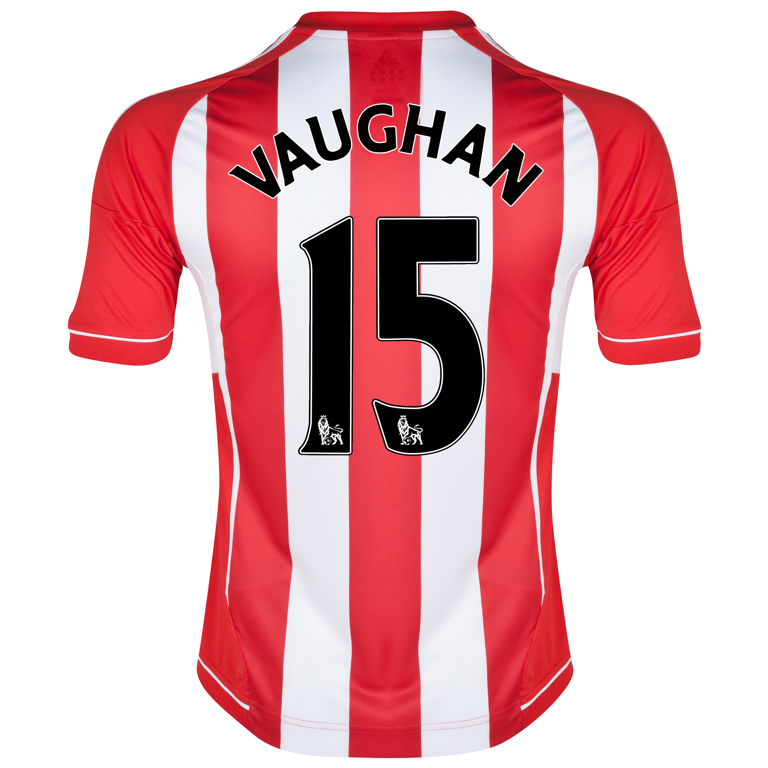 Sunderland Home Shirt 2012/13 with Vaughan 15 printing
