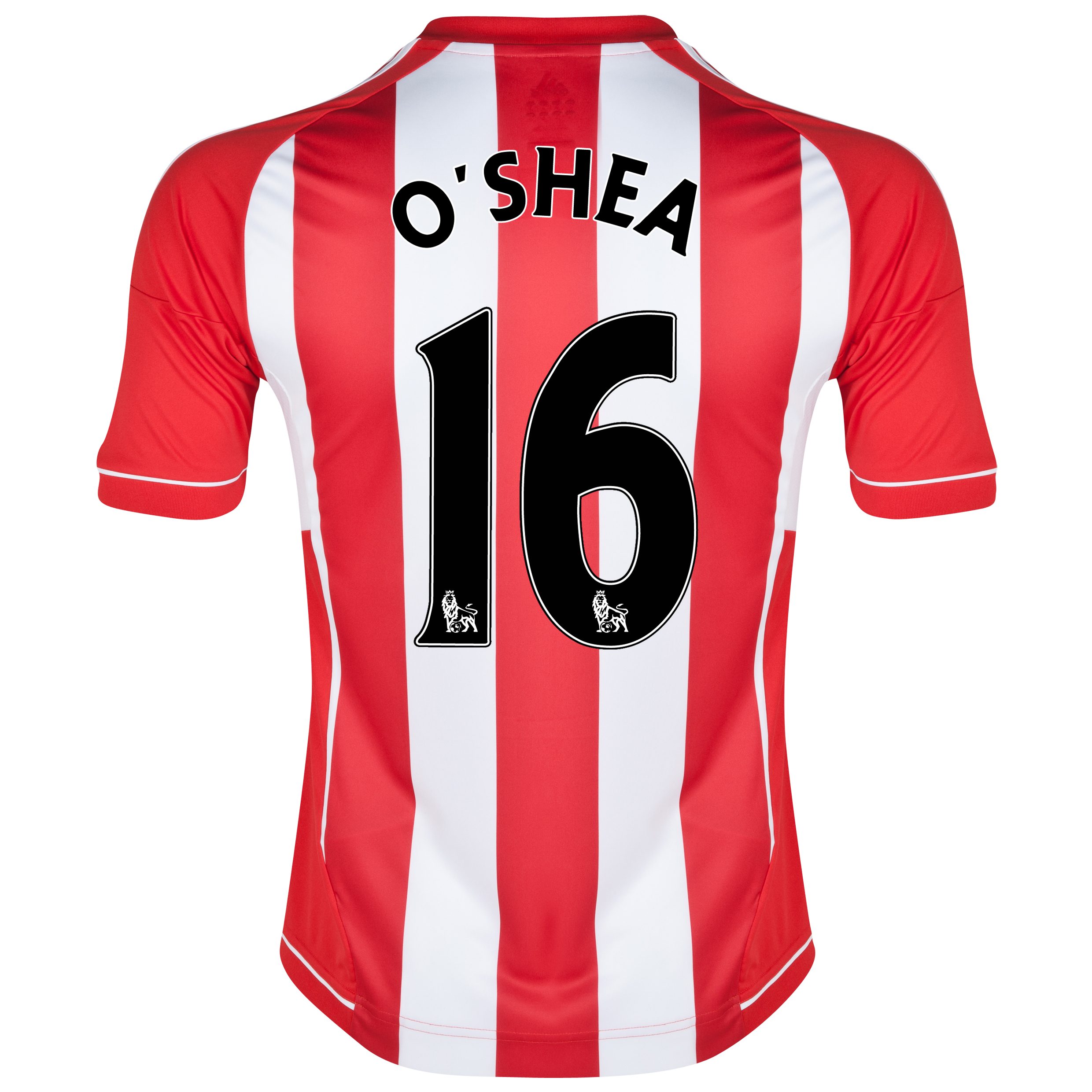 Sunderland Home Shirt 2012/13 with O'Shea 16 printing