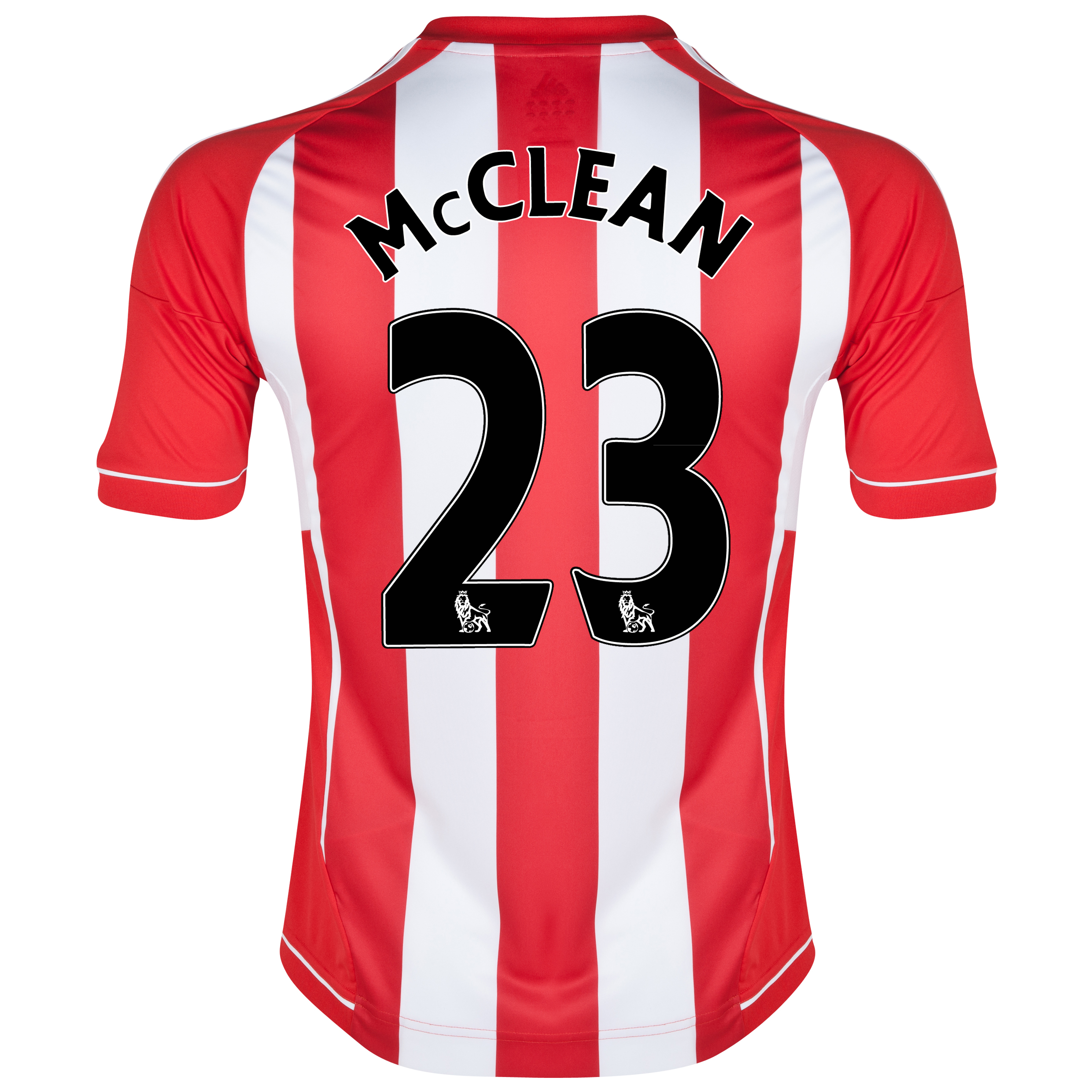 Sunderland Home Shirt 2012/13 with McClean 23 printing