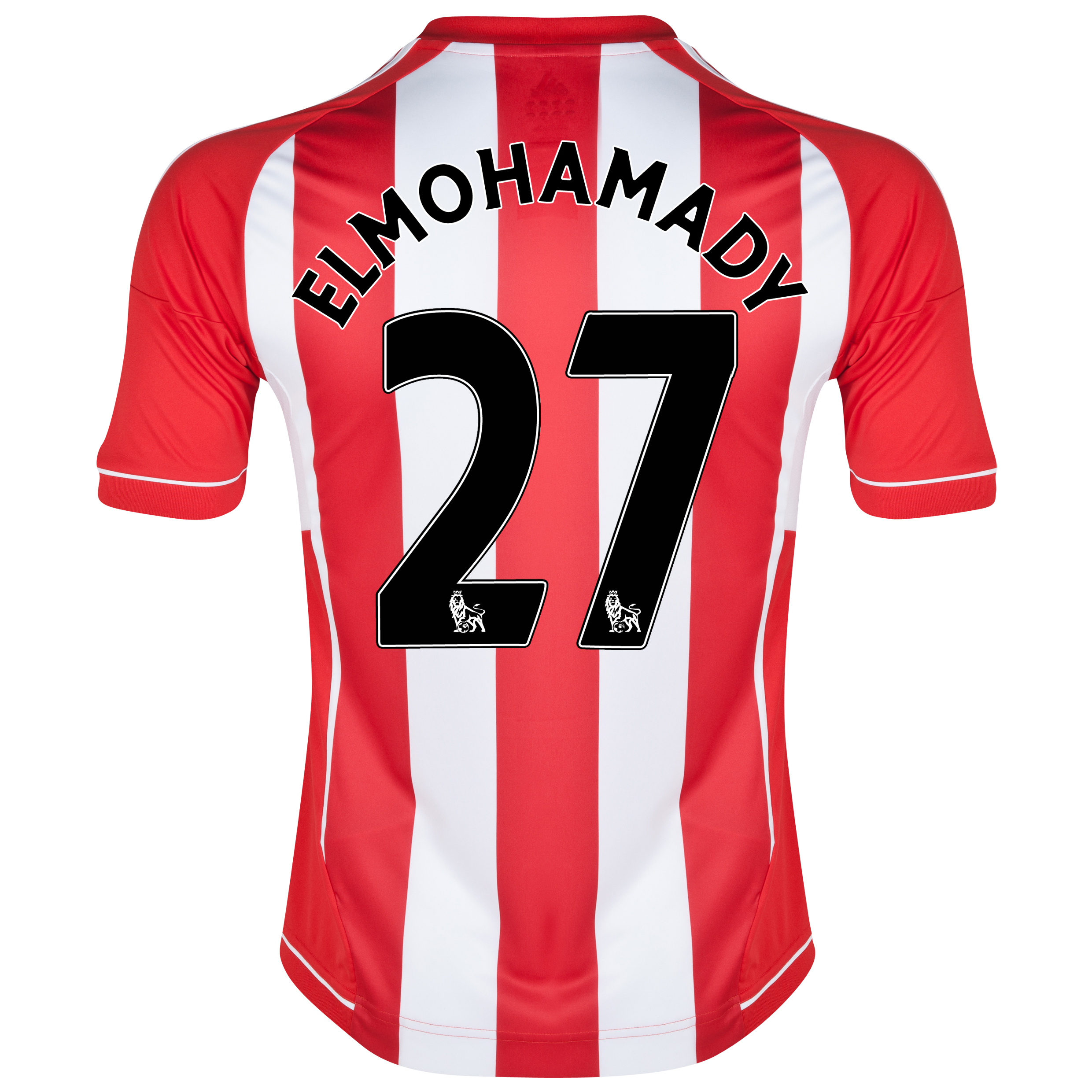 Sunderland Home Shirt 2012/13 with Elmohamady 27 printing