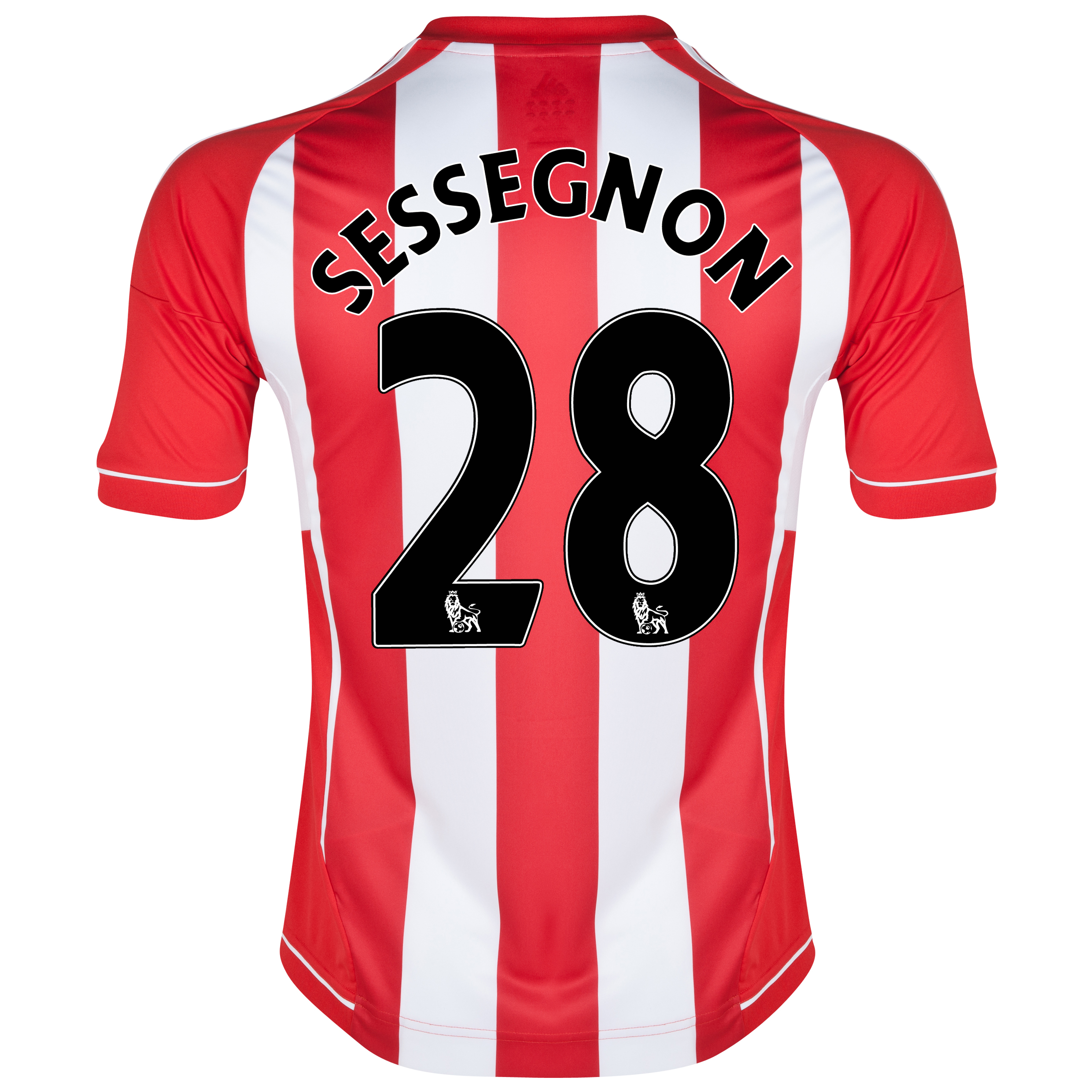 Sunderland Home Shirt 2012/13 with Sessegnon 28 printing
