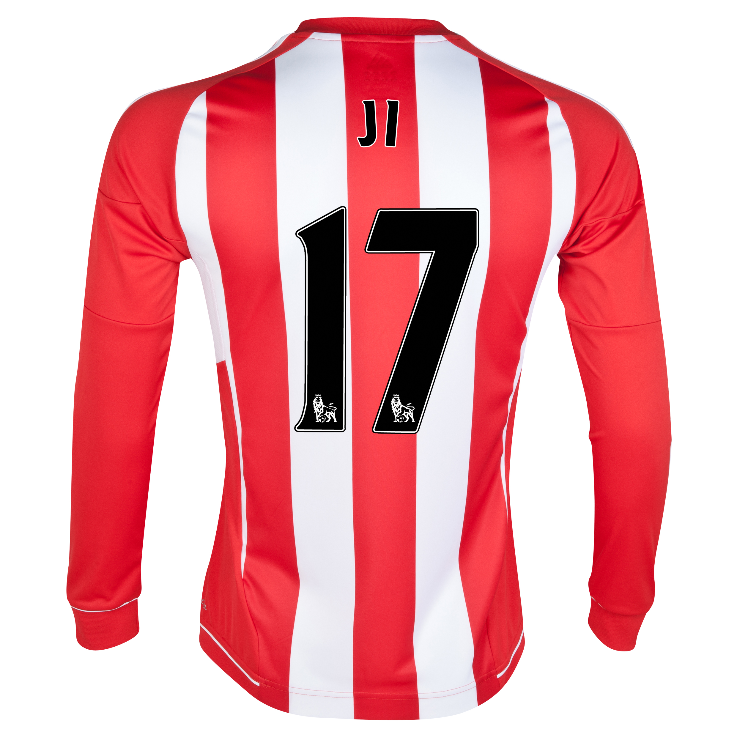 Sunderland Home Shirt 2012/13 - Long Sleeved with Ji 17 printing