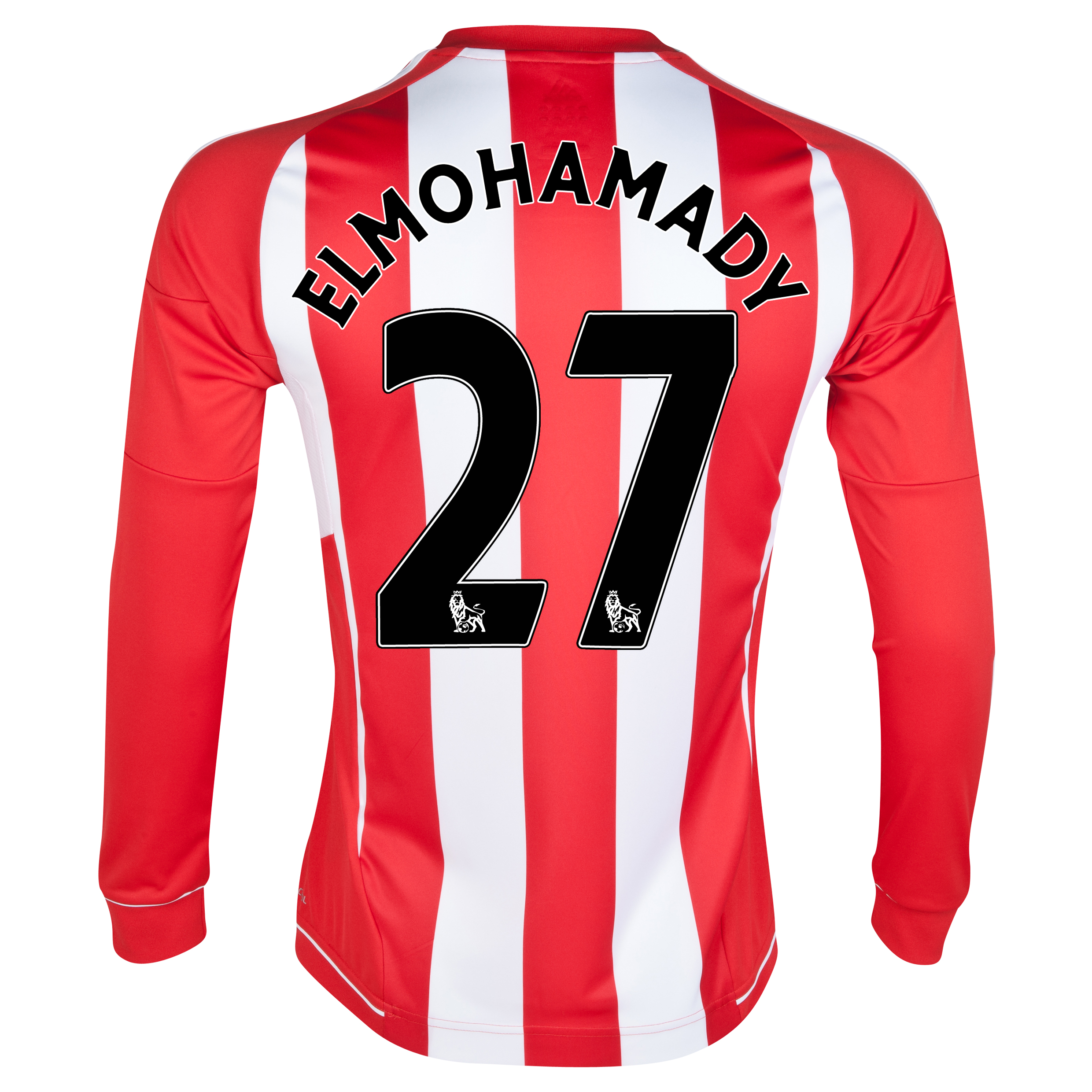Sunderland Home Shirt 2012/13 - Long Sleeved with Elmohamady 27 printing
