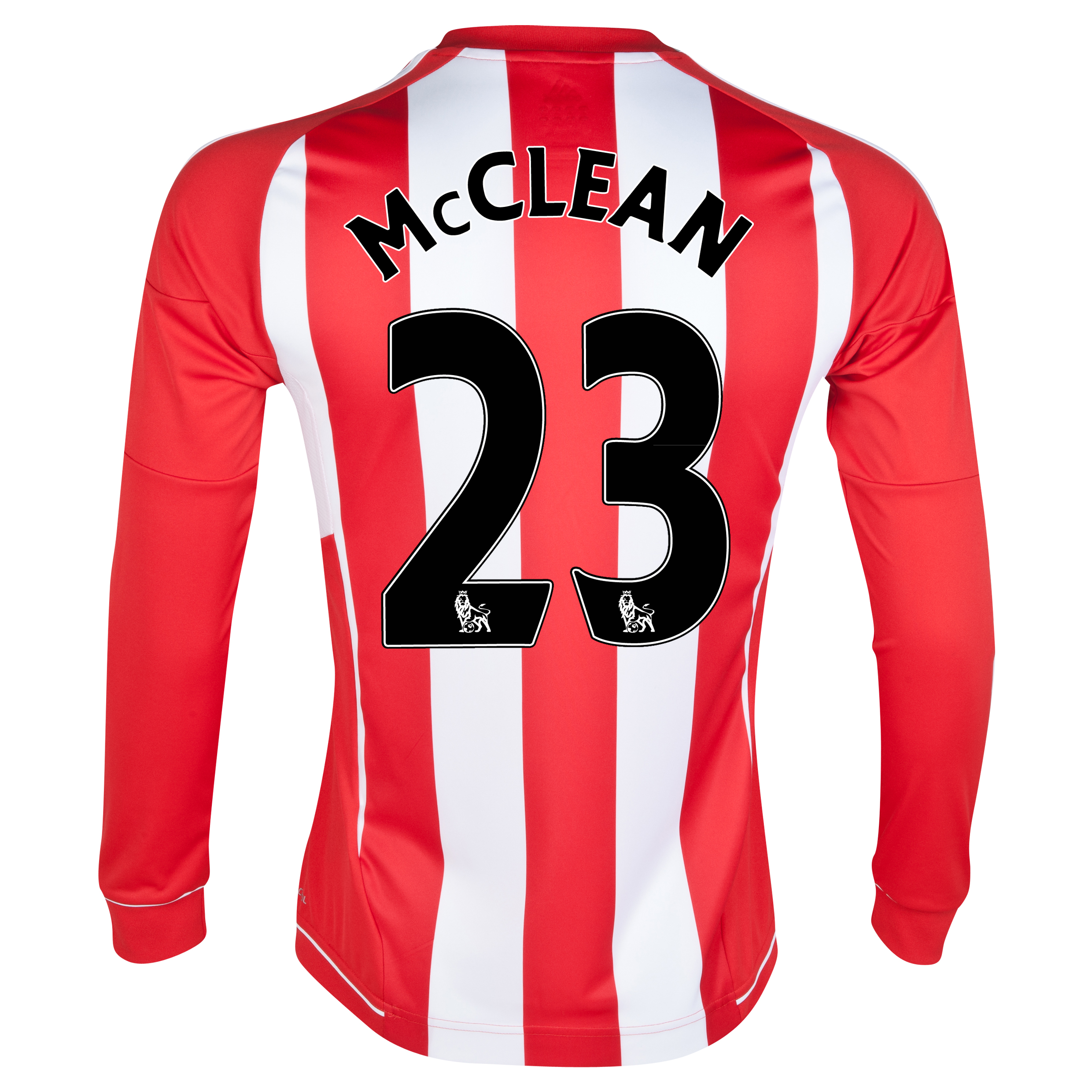 Sunderland Home Shirt 2012/13 - Long Sleeved - Junior with McClean 23 printing