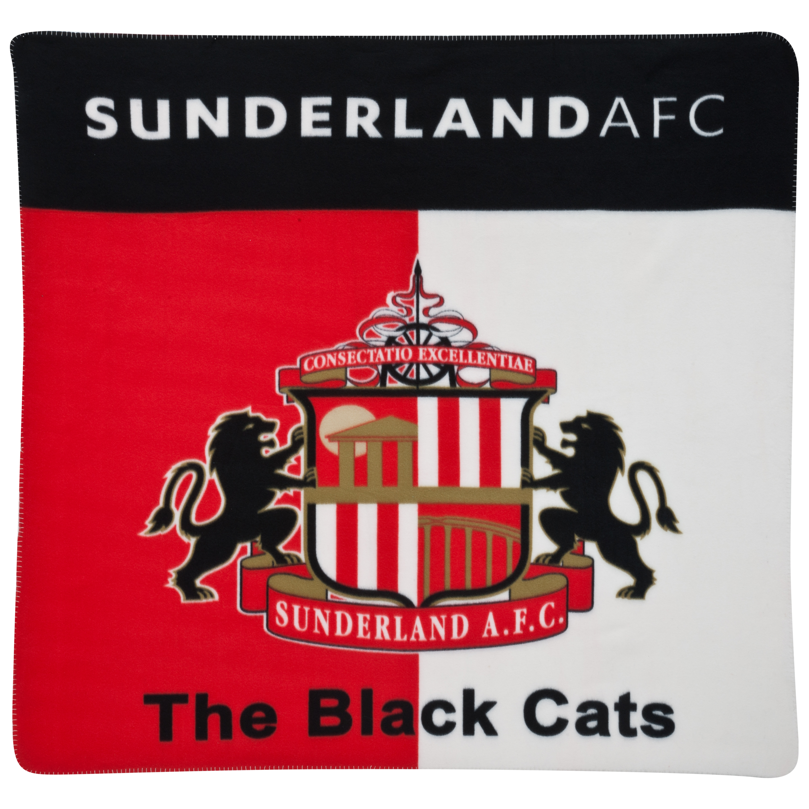 Sunderland Crest Fleece Throw - 120x150